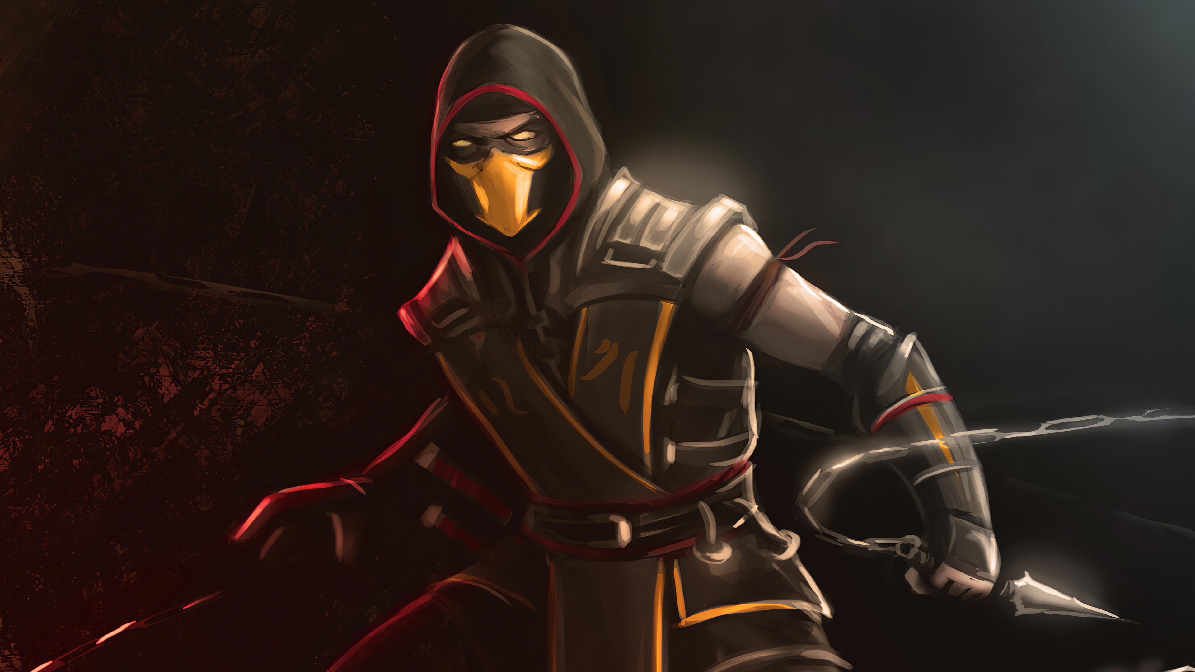scorpion mortal kombat 1572370687 - Scorpion Mortal Kombat - sub zero wallpapers, scorpion wallpapers, mortal kombat wallpapers, hd-wallpapers, games wallpapers, artstation wallpapers, 4k-wallpapers