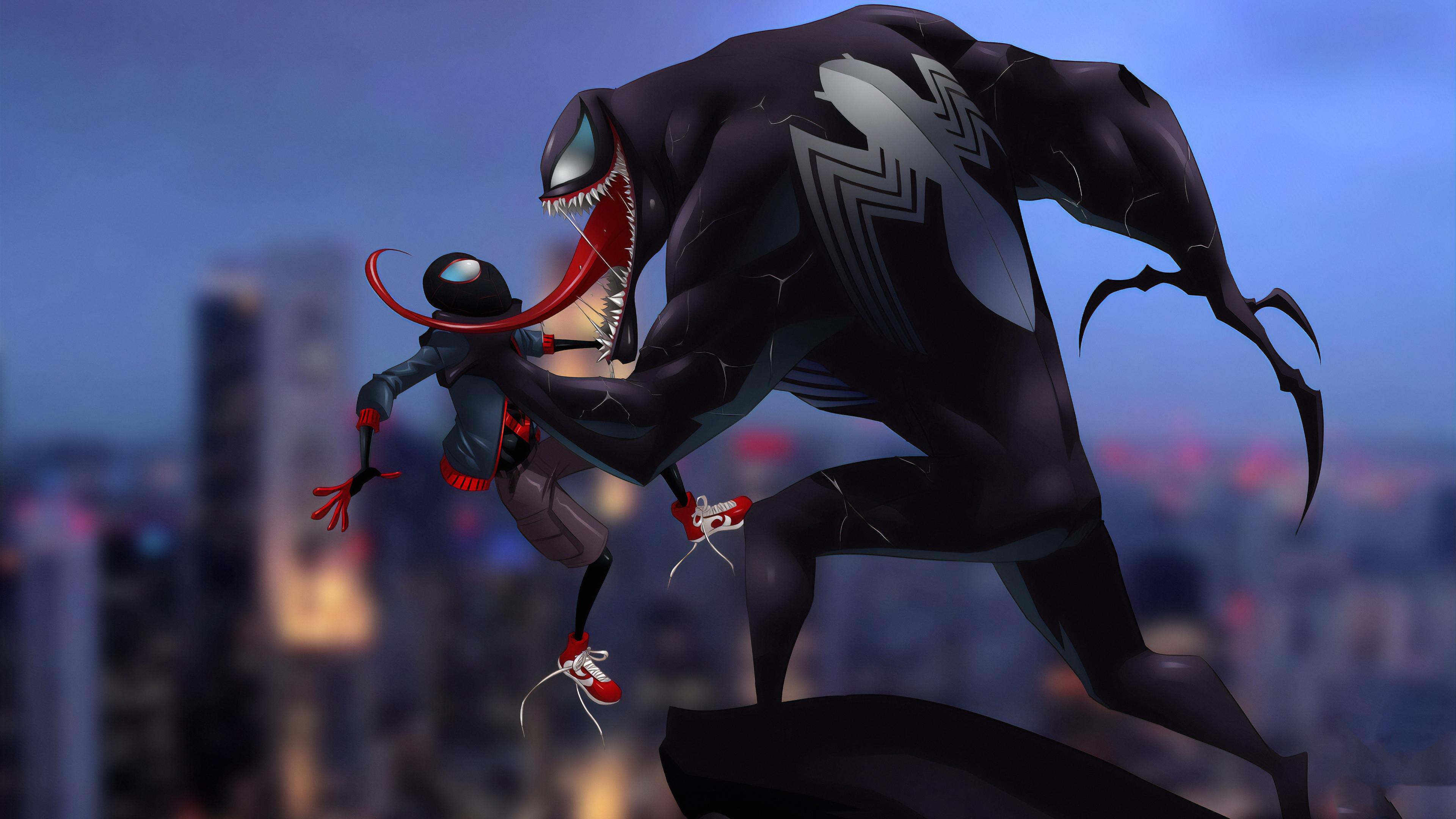 Wallpaper 4k Spider Man And Venom 4k Wallpapers Hd Wallpapers