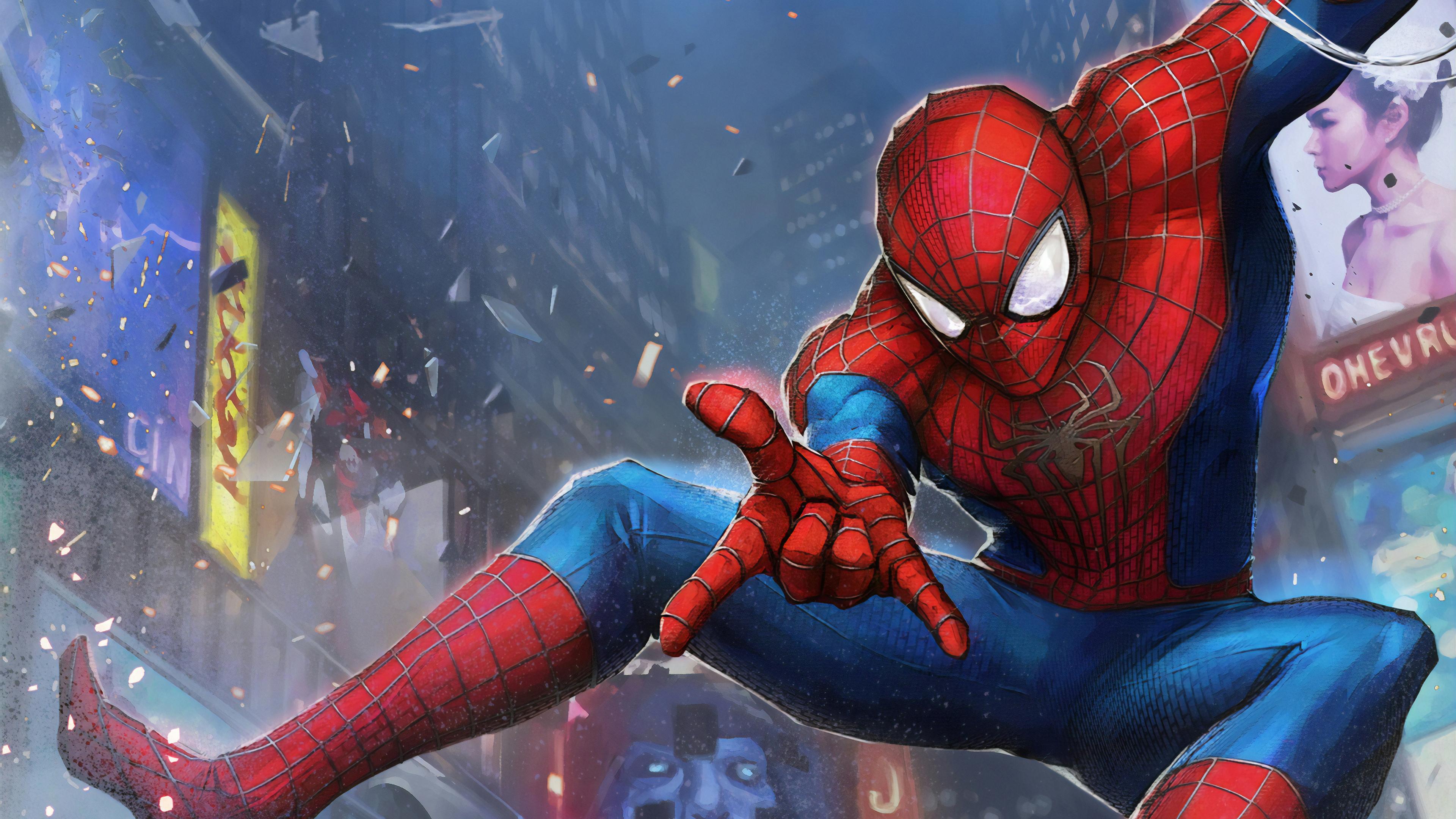 spiderman art 1570393996 - Spiderman art - superheroes wallpapers, spiderman wallpapers, hd-wallpapers, digital art wallpapers, artwork wallpapers, artstation wallpapers, art wallpapers, 4k-wallpapers