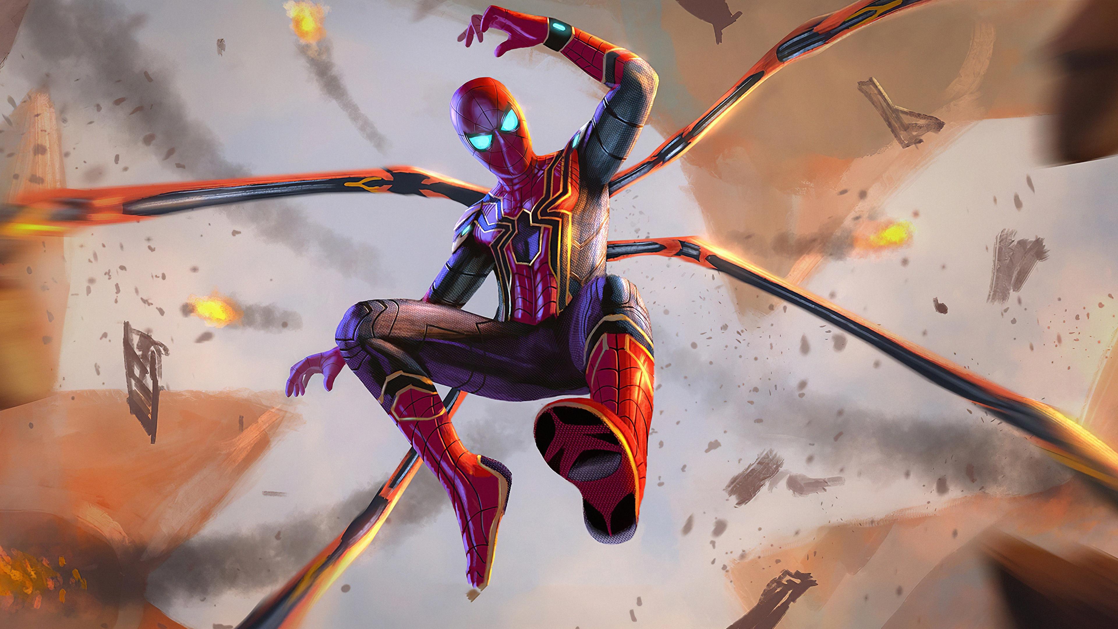 spiderman instant killer suit 1572368994 - Spiderman Instant Killer Suit - superheroes wallpapers, spiderman wallpapers, hd-wallpapers, digital art wallpapers, artwork wallpapers, art wallpapers, 4k-wallpapers