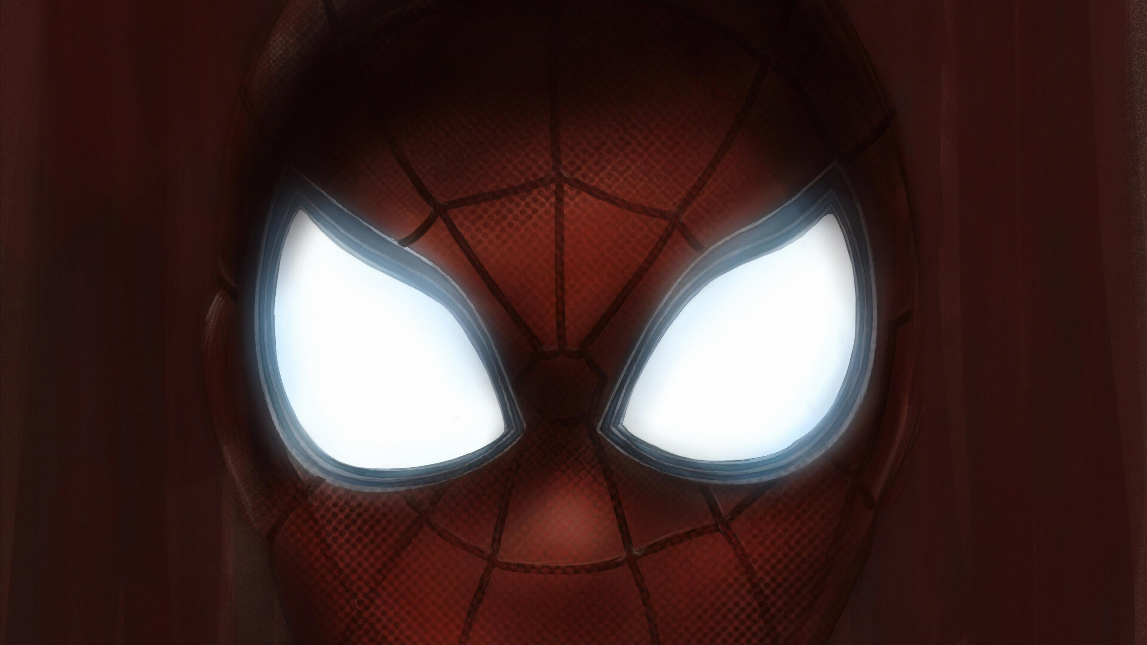 spiderman mask eyes 1570394567 - Spiderman Mask Eyes - superheroes wallpapers, spiderman wallpapers, hd-wallpapers, digital art wallpapers, artwork wallpapers, artstation wallpapers, art wallpapers, 4k-wallpapers