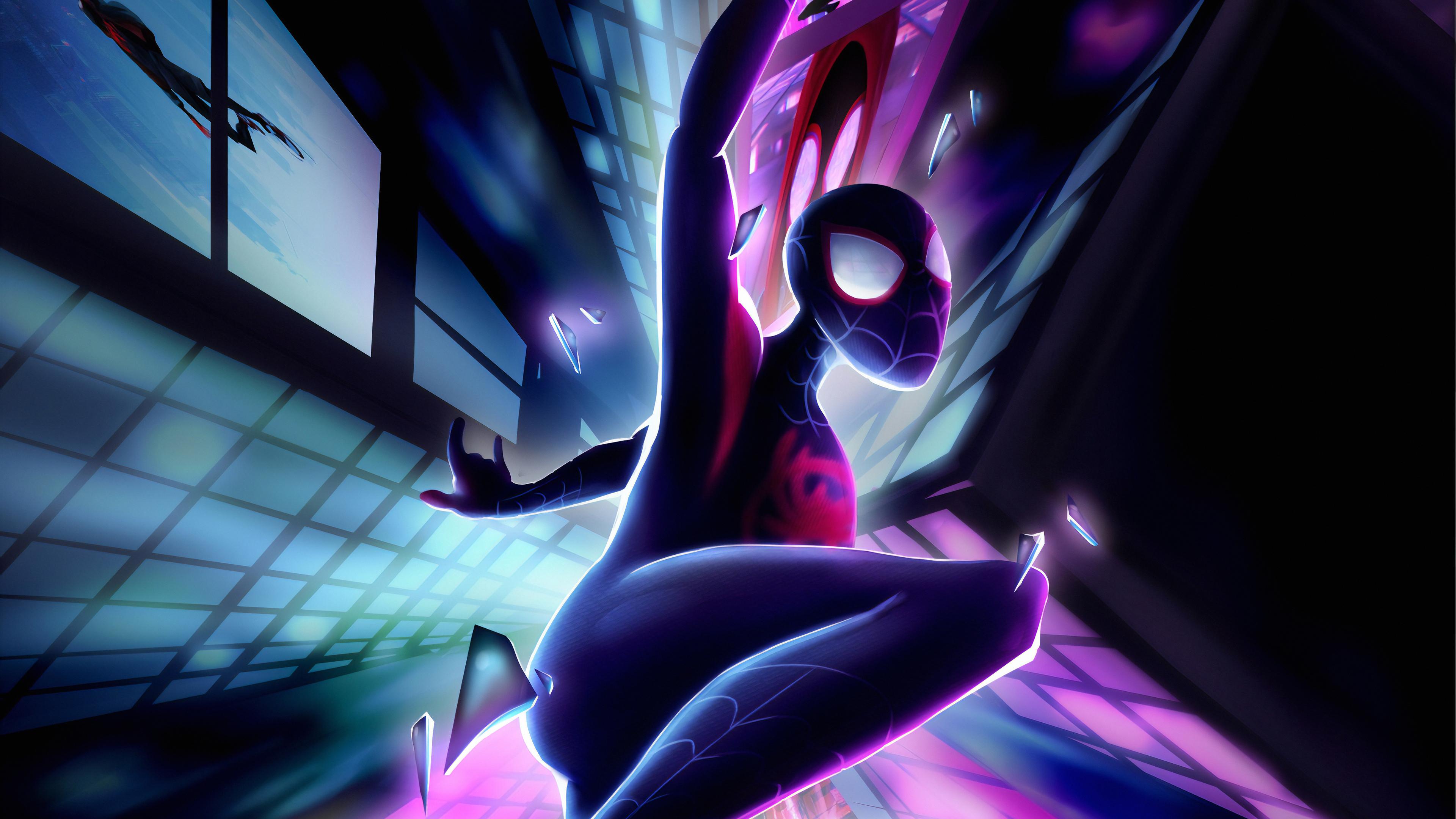 spiderman miles away 1570918383 - Spiderman Miles Away - superheroes wallpapers, spiderman wallpapers, hd-wallpapers, digital art wallpapers, artwork wallpapers, art wallpapers, arstation wallpapers, 4k-wallpapers