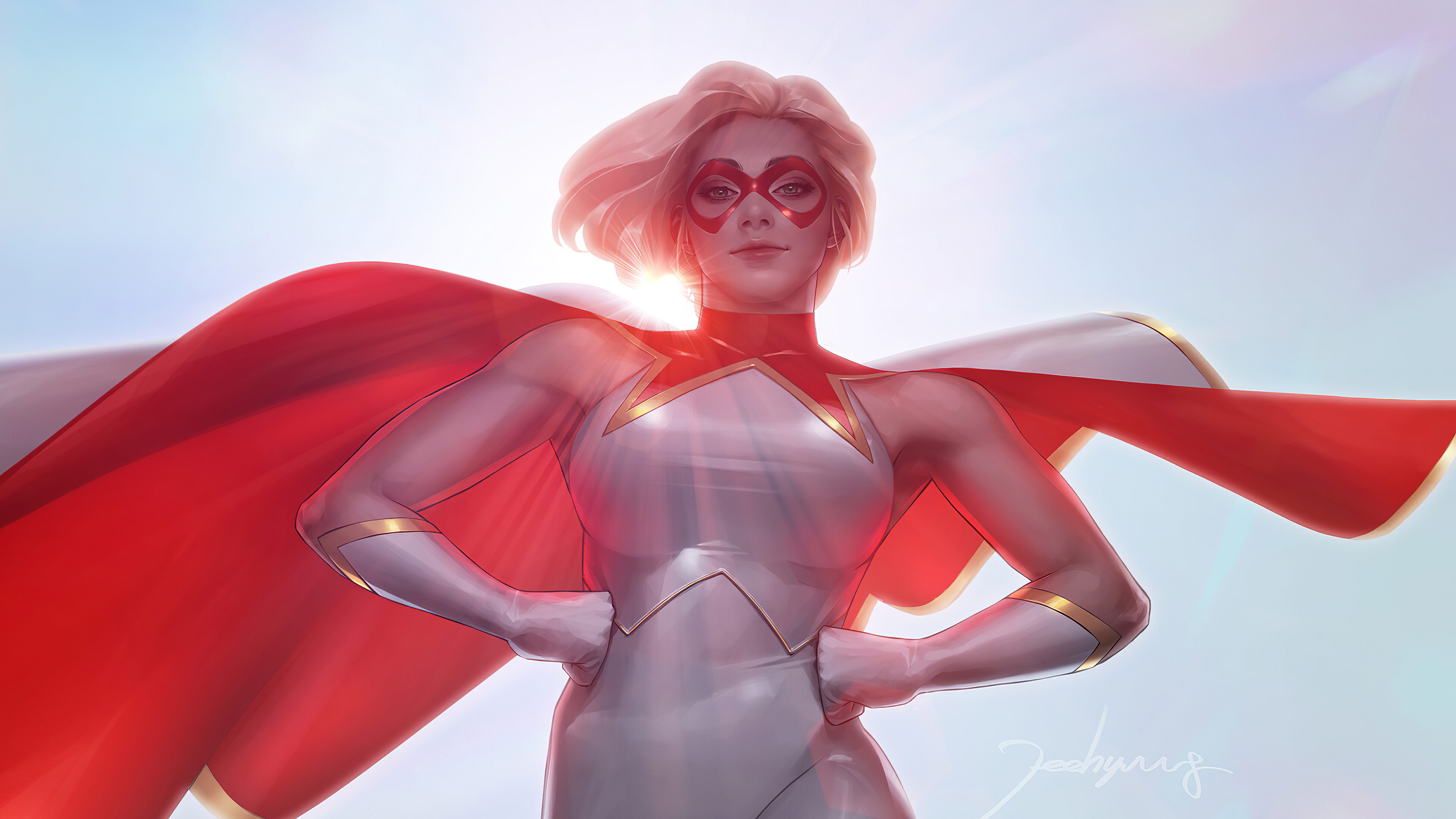 star girl 1572368870 - Star Girl - superheroes wallpapers, star girl wallpapers, marvel wallpapers, hd-wallpapers, artstation wallpapers, 4k-wallpapers