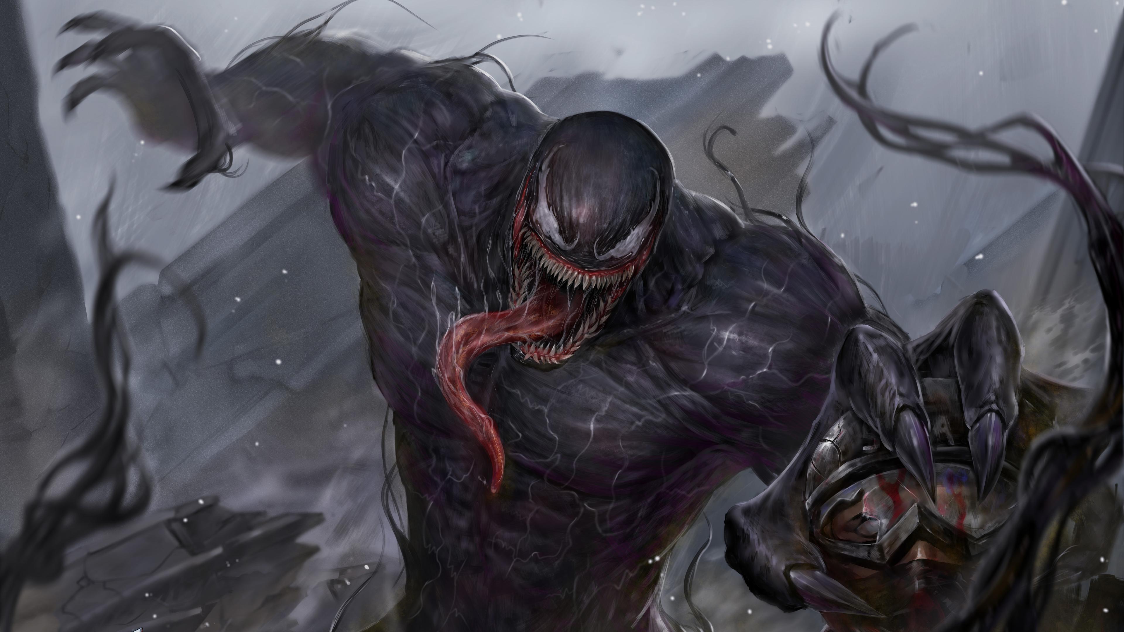 venom art 1570918554 - Venom Art - Venom wallpapers, superheroes wallpapers, hd-wallpapers, artwork wallpapers, 5k wallpapers, 4k-wallpapers