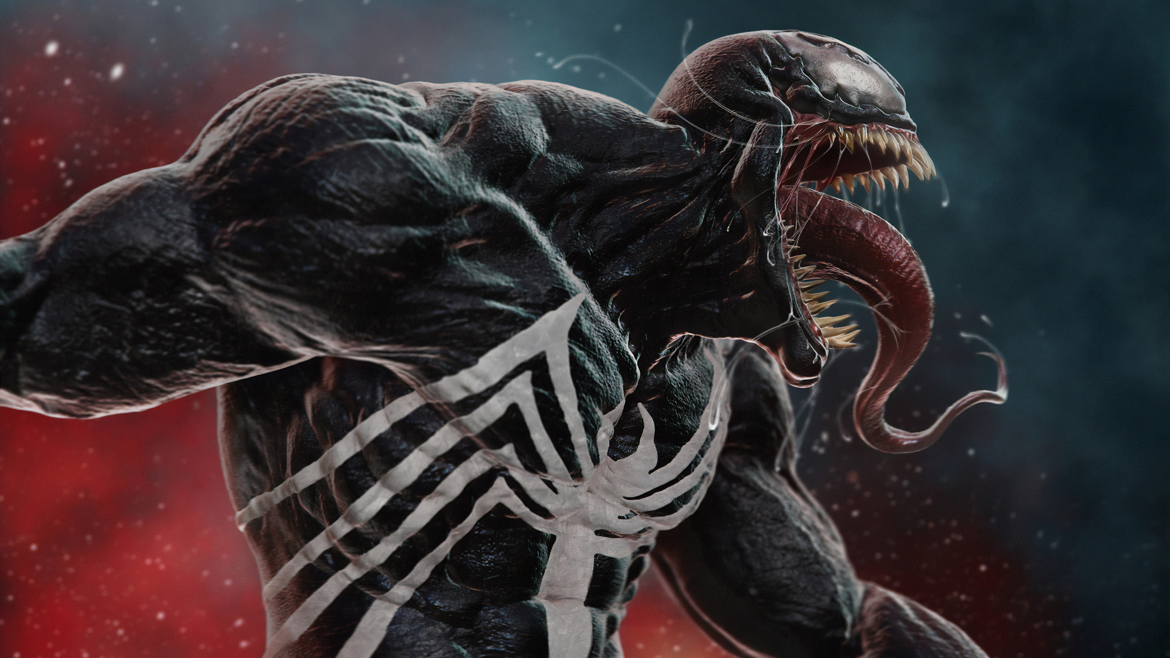 venom newart 1570394188 - Venom  Newart - Venom wallpapers, superheroes wallpapers, hd-wallpapers, digital art wallpapers, artwork wallpapers, artstation wallpapers, 4k-wallpapers