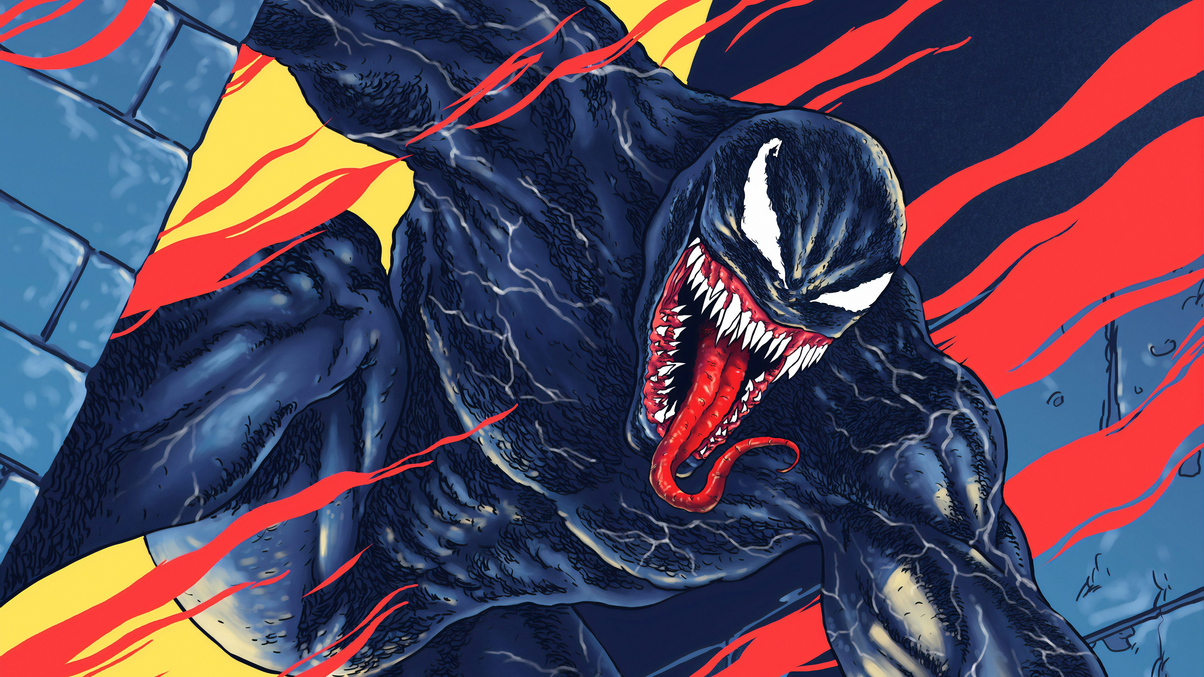 venom take over city 1570918670 - Venom Take Over City - Venom wallpapers, superheroes wallpapers, hd-wallpapers, digital art wallpapers, artwork wallpapers, 4k-wallpapers