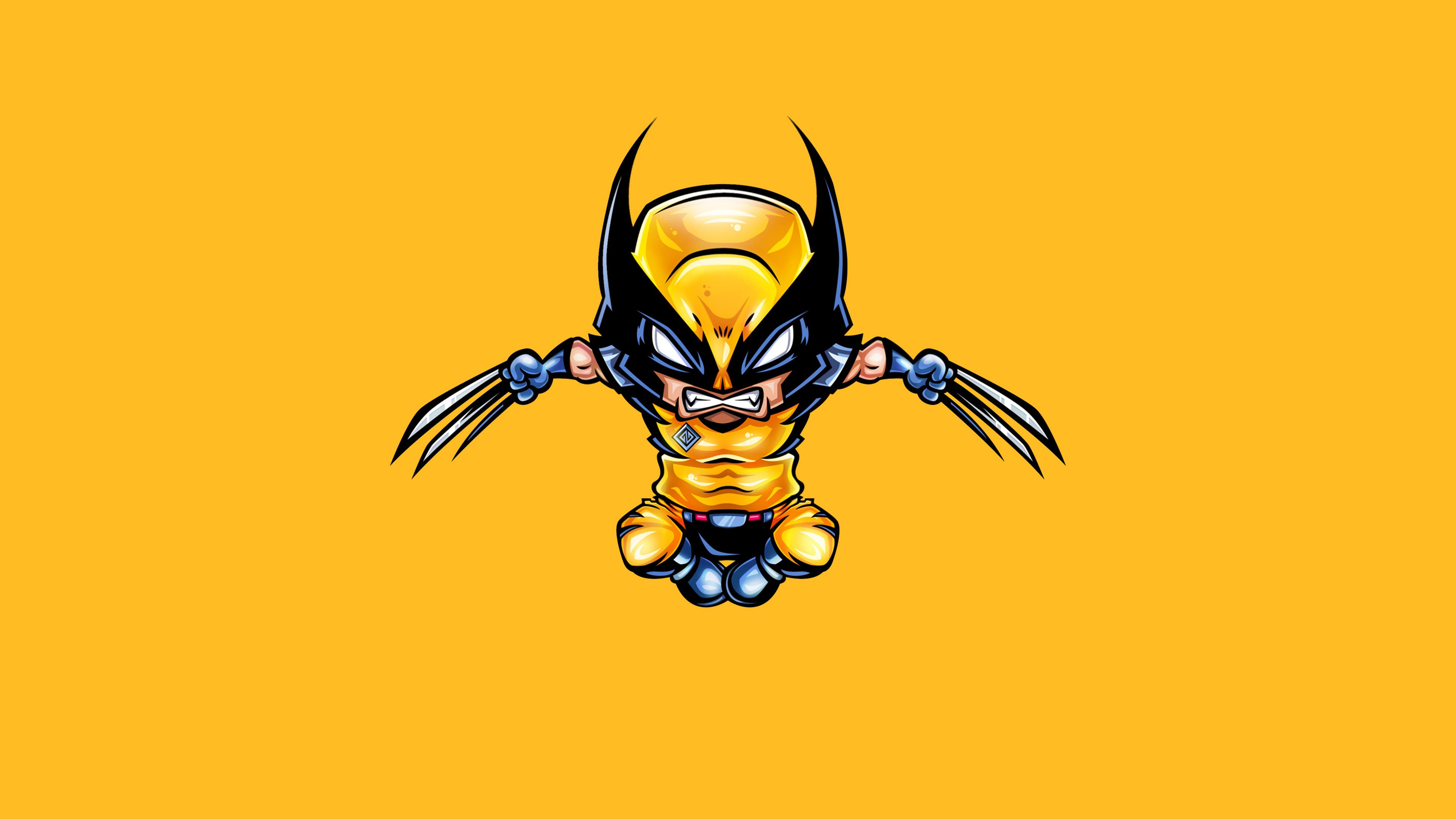 wolverine minimal 1570394565 - Wolverine Minimal - wolverine wallpapers, superheroes wallpapers, hd-wallpapers, artwork wallpapers, artstation wallpapers, 4k-wallpapers