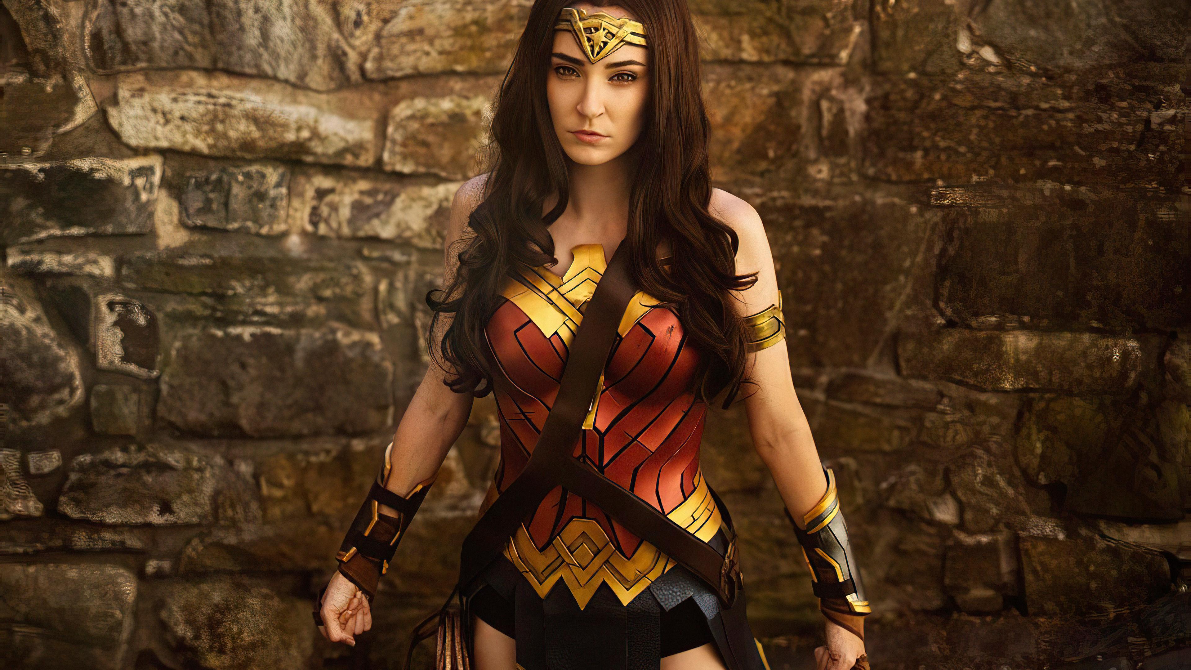 Wallpaper 4k Wonder Woman Cosplay 2019 4k Wallpapers