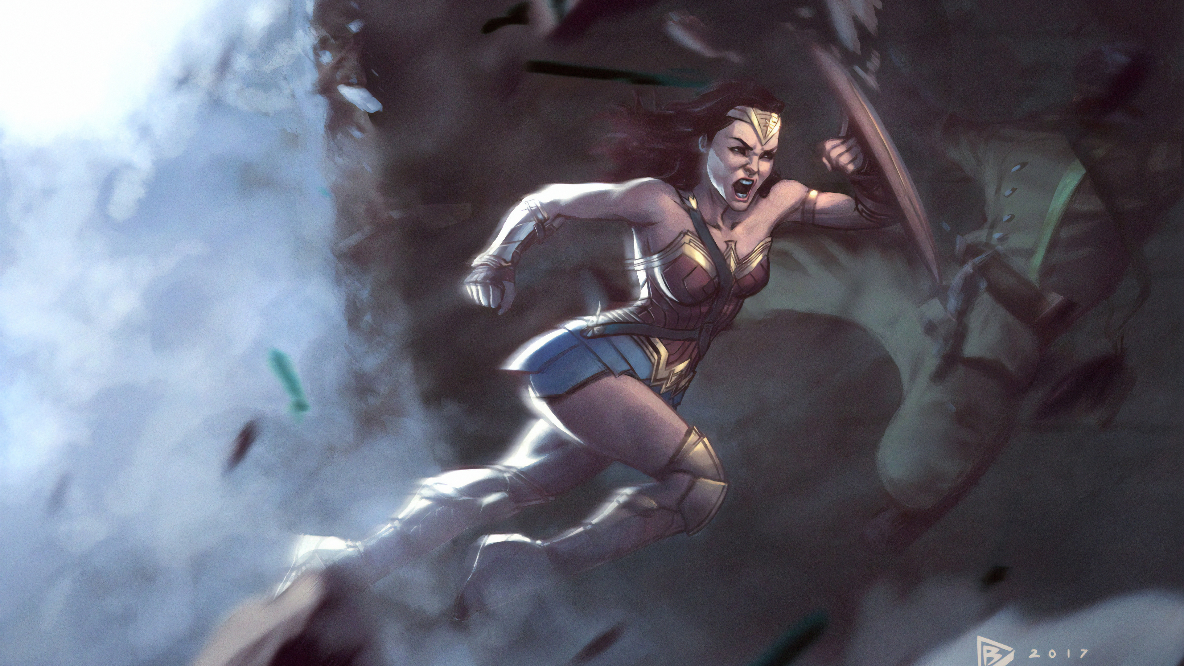 wonder woman roar 1570394645 - Wonder Woman Roar - wonder woman wallpapers, superheroes wallpapers, hd-wallpapers, digital art wallpapers, artwork wallpapers, 4k-wallpapers