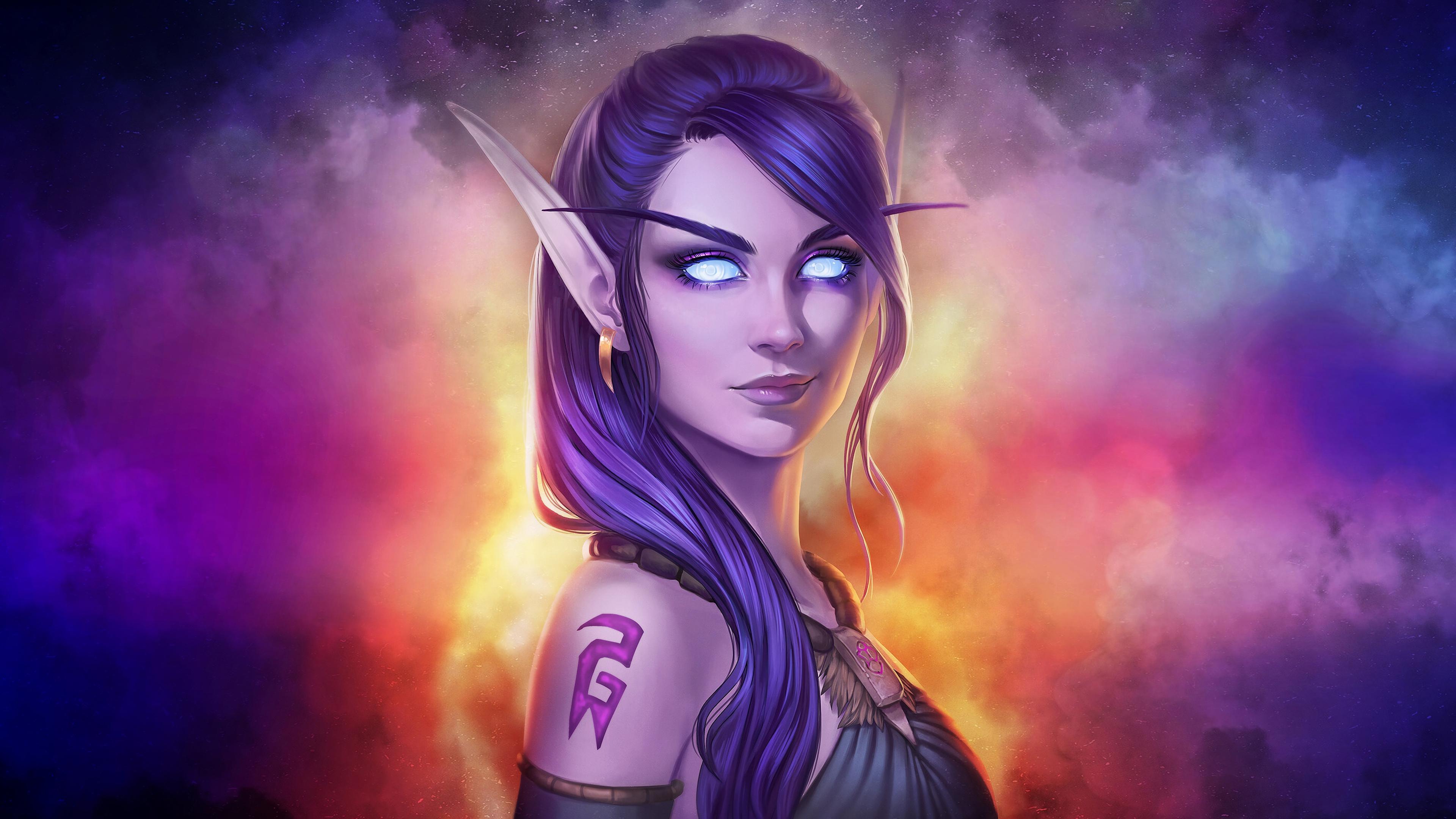 world of warcraft fantasy girl art 1570392322 - World Of Warcraft Fantasy Girl Art - world of warcraft wallpapers, hd-wallpapers, games wallpapers, 4k-wallpapers