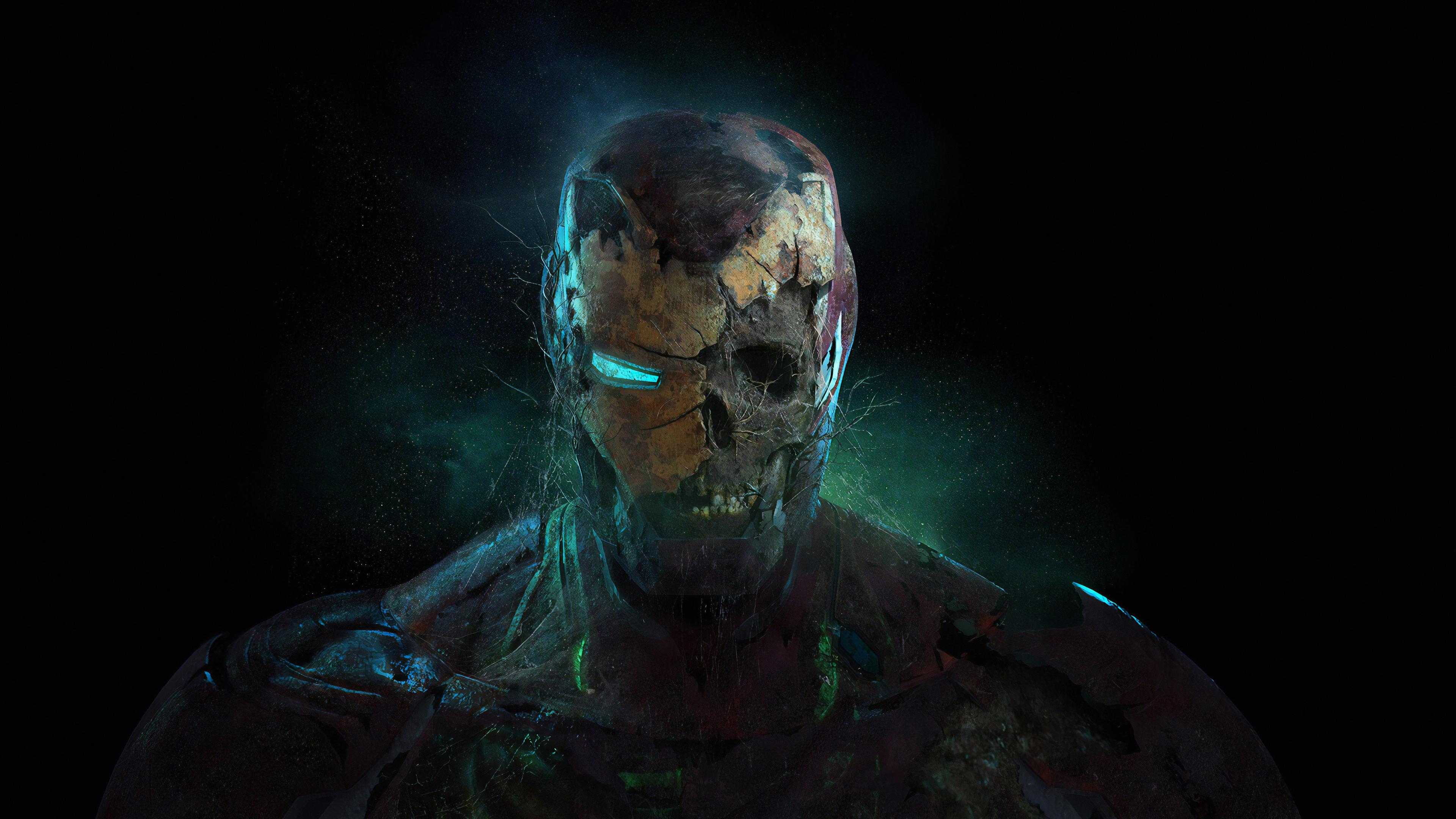 zombie iron man 1570393610 - Zombie Iron Man - superheroes wallpapers, iron man wallpapers, hd-wallpapers, digital art wallpapers, artwork wallpapers, artstation wallpapers, 4k-wallpapers