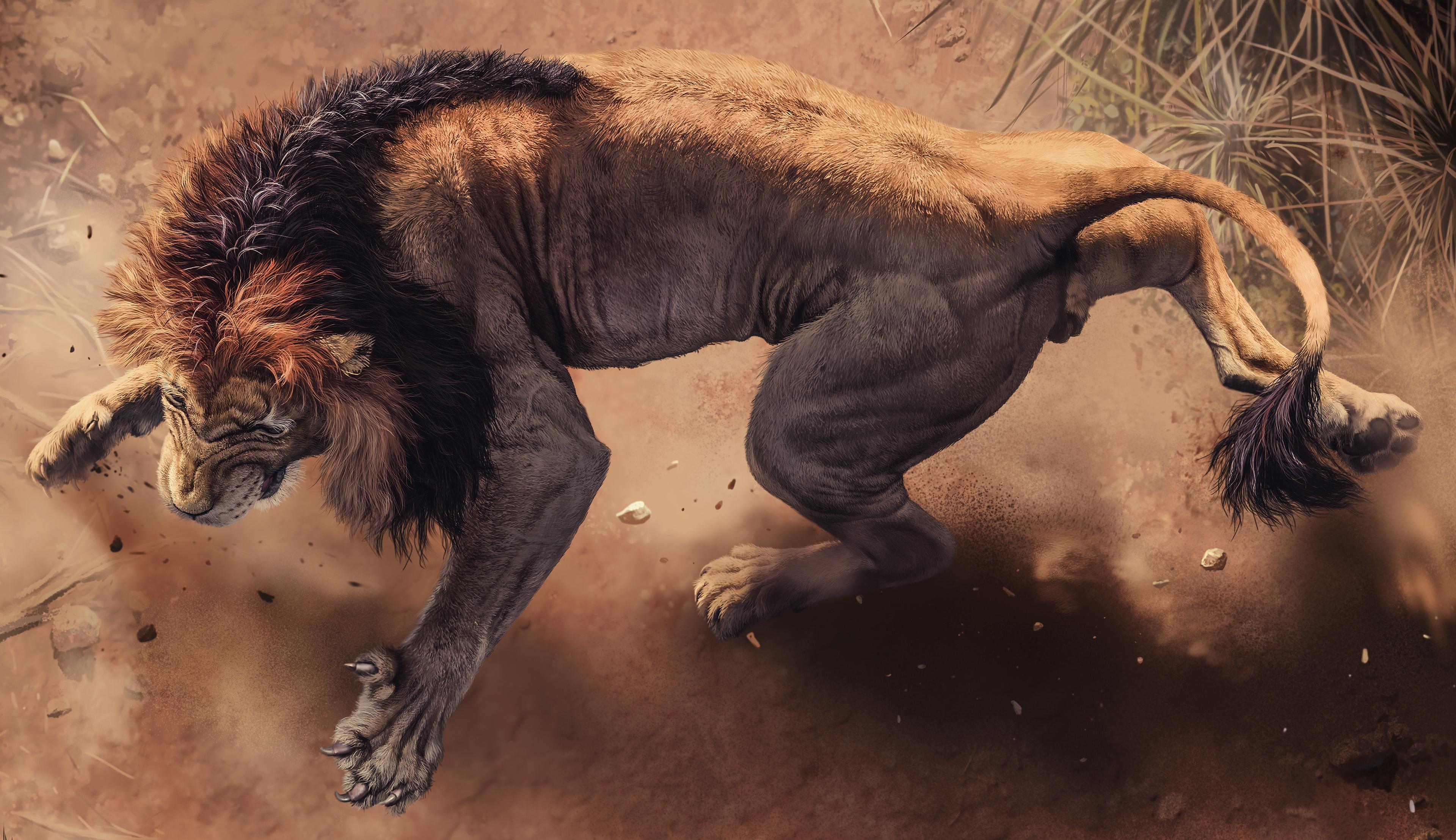 angry lion 1574938081 - Angry Lion -