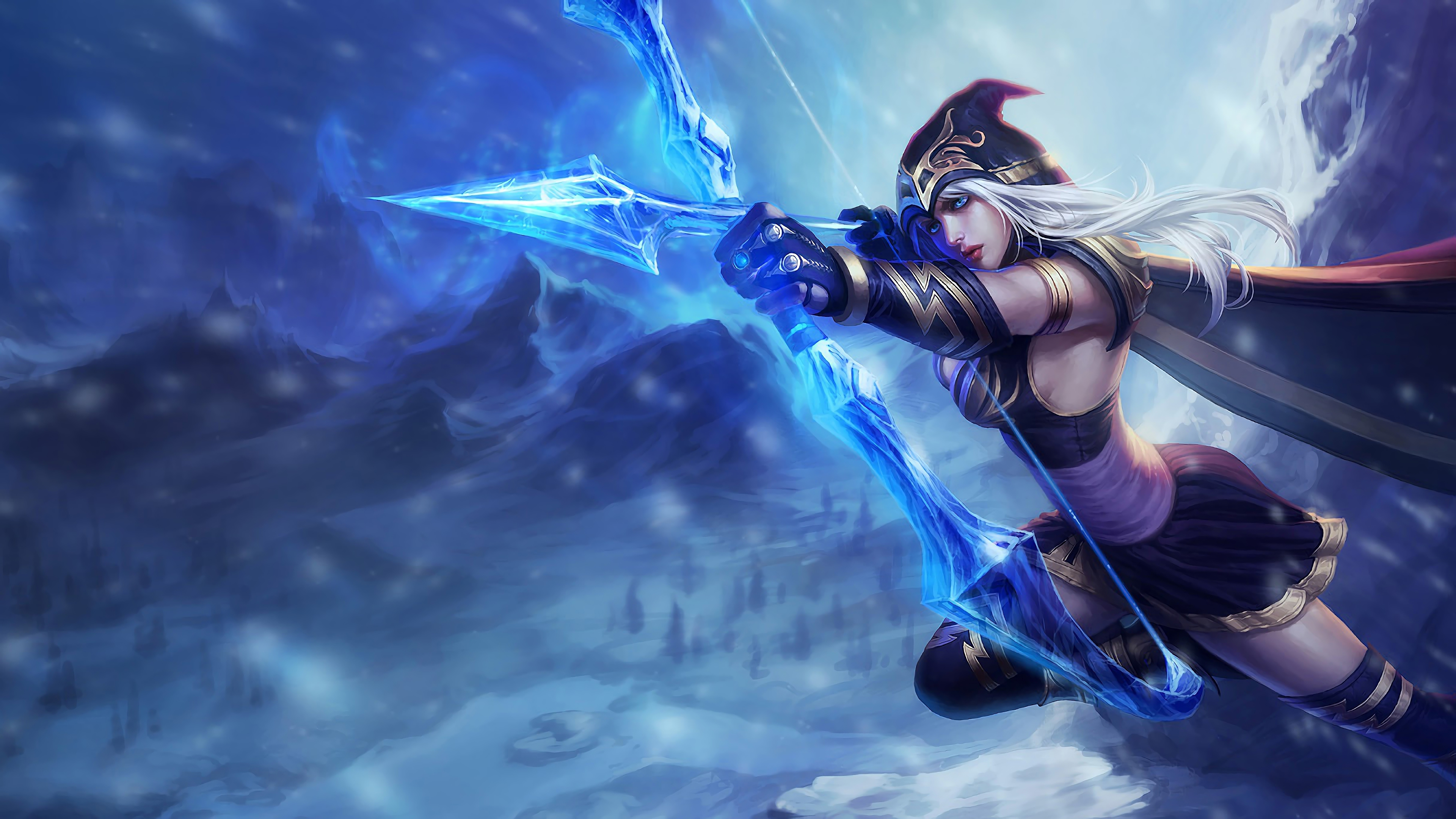ashe lol splash art league of legends lol 1574102571 - Ashe LoL Splash Art League of Legends lol - league of legends, Ashe