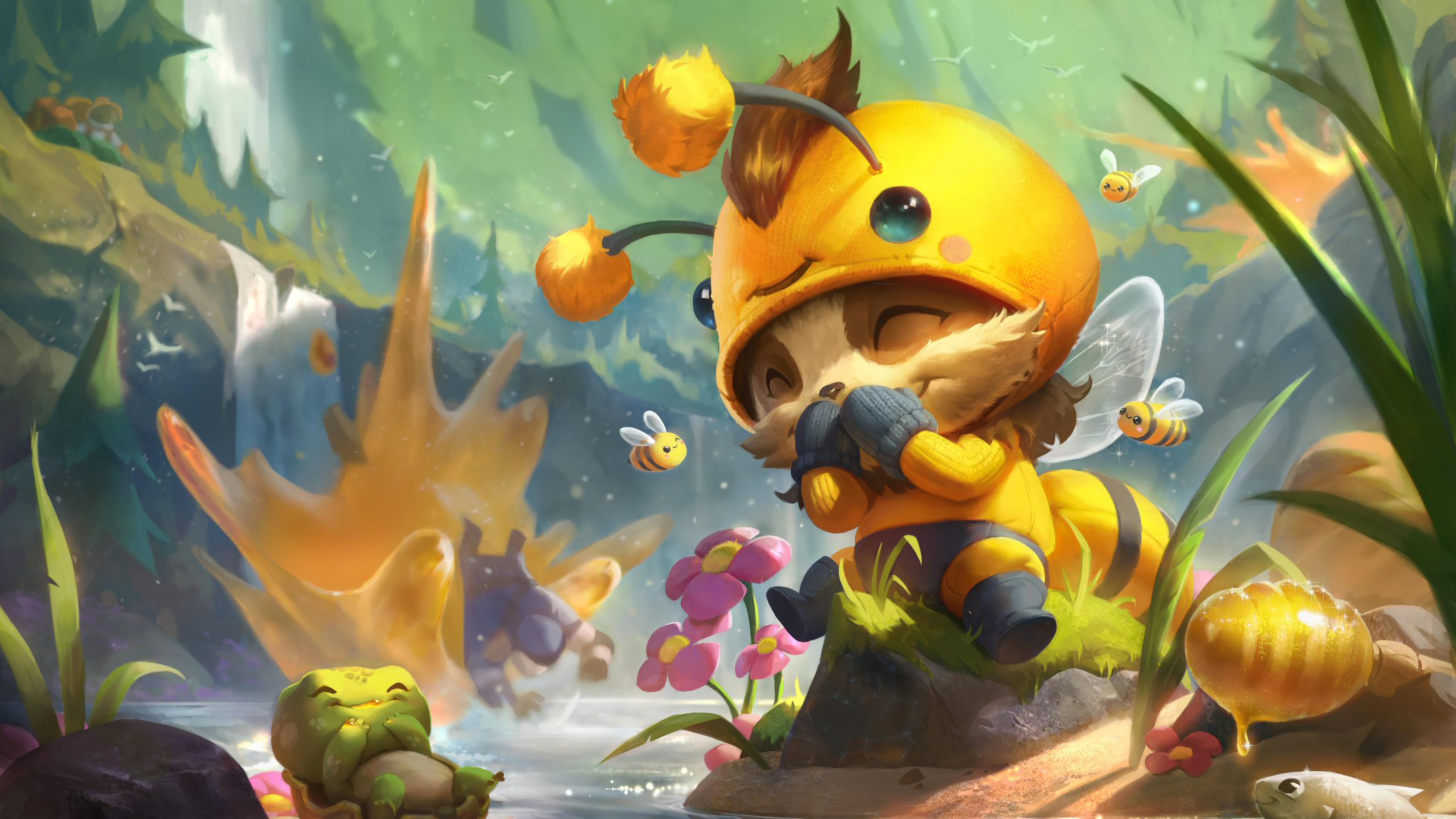 beemo teemo lol splash art league of legends lol 1574103425 - Beemo Teemo LoL Splash Art League of Legends lol - Teemo, league of legends