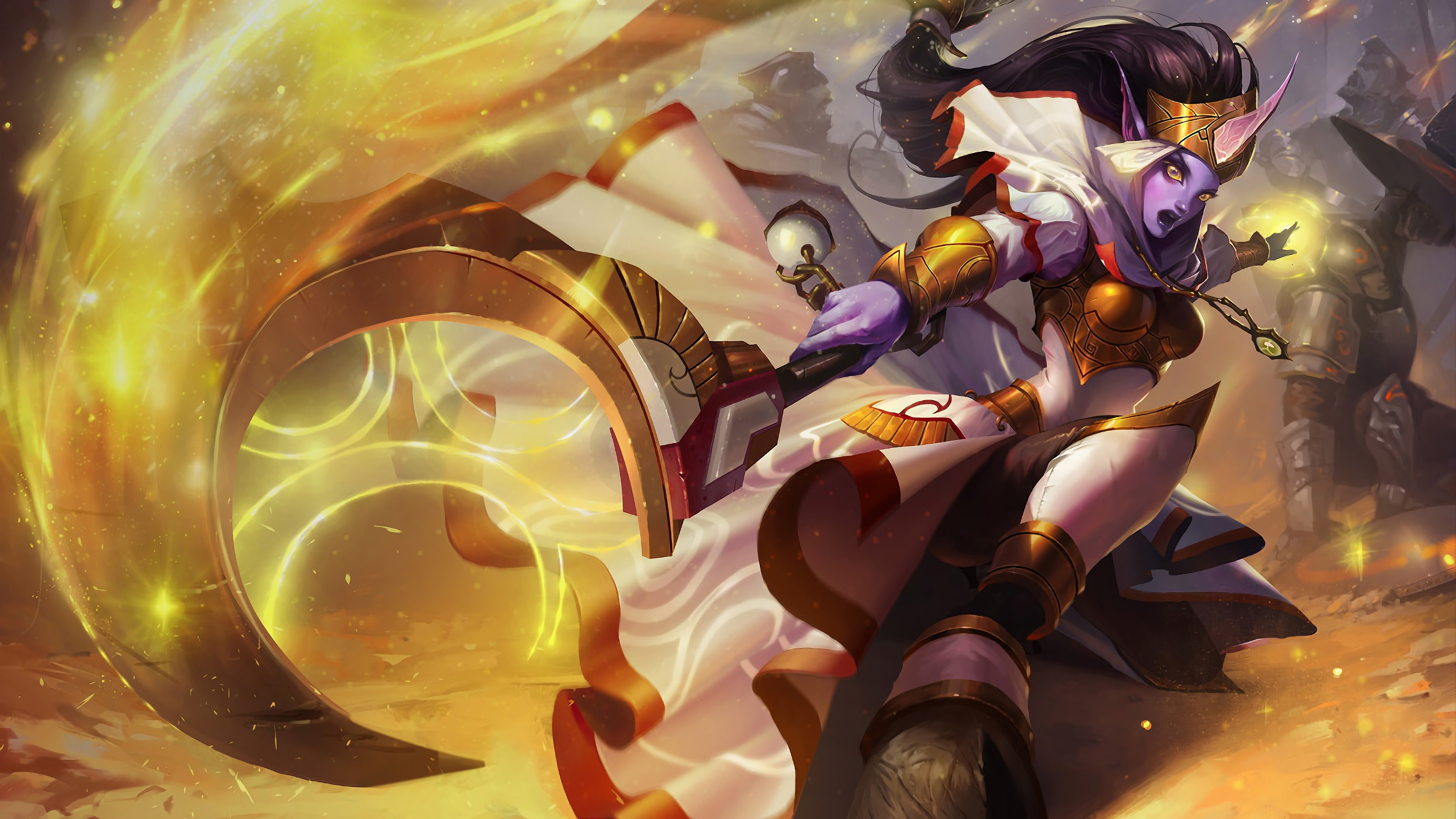 celestine soraka lol splash art league of legends 1574100639 - Celestine Soraka LoL Splash Art League of Legends - Soraka, league of legends