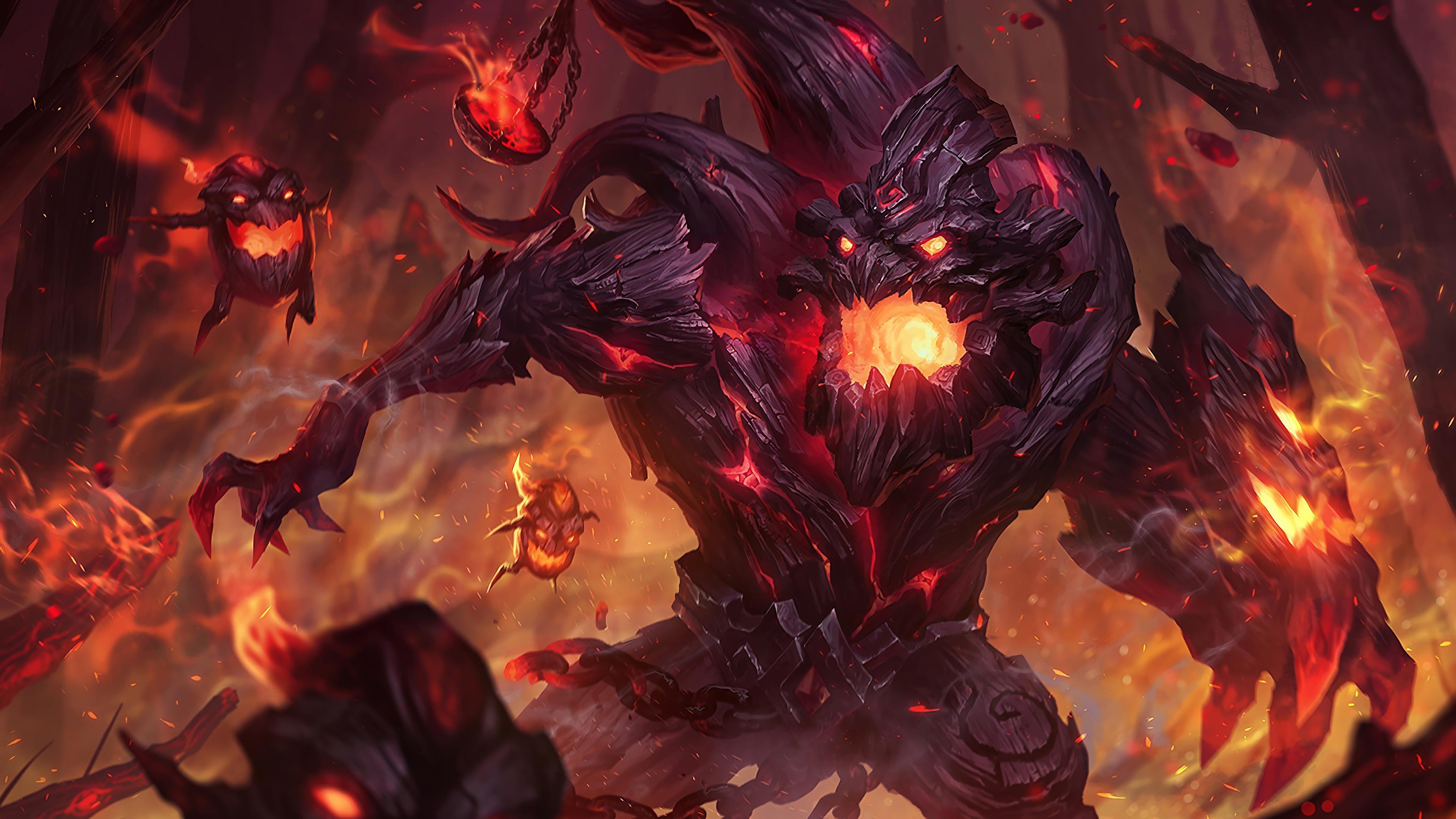 charred maokai lol splash art league of legends lol 1574101594 - Charred Maokai LoL Splash Art League of Legends lol - Maokai, league of legends