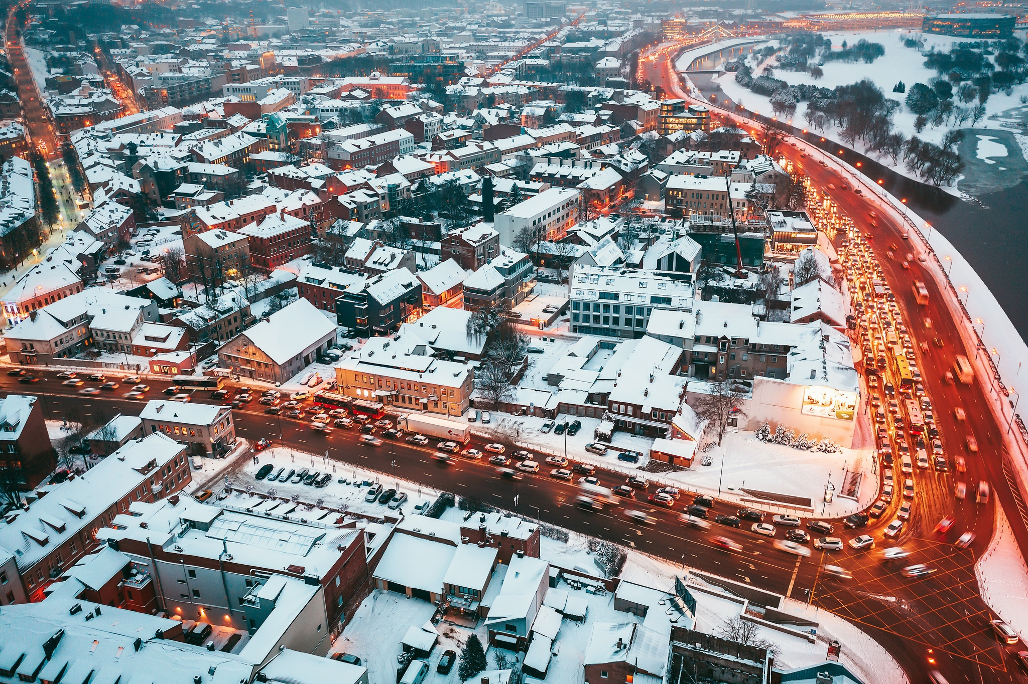 city covered in snow cityscape 1574939521 - City Covered In Snow Cityscape -