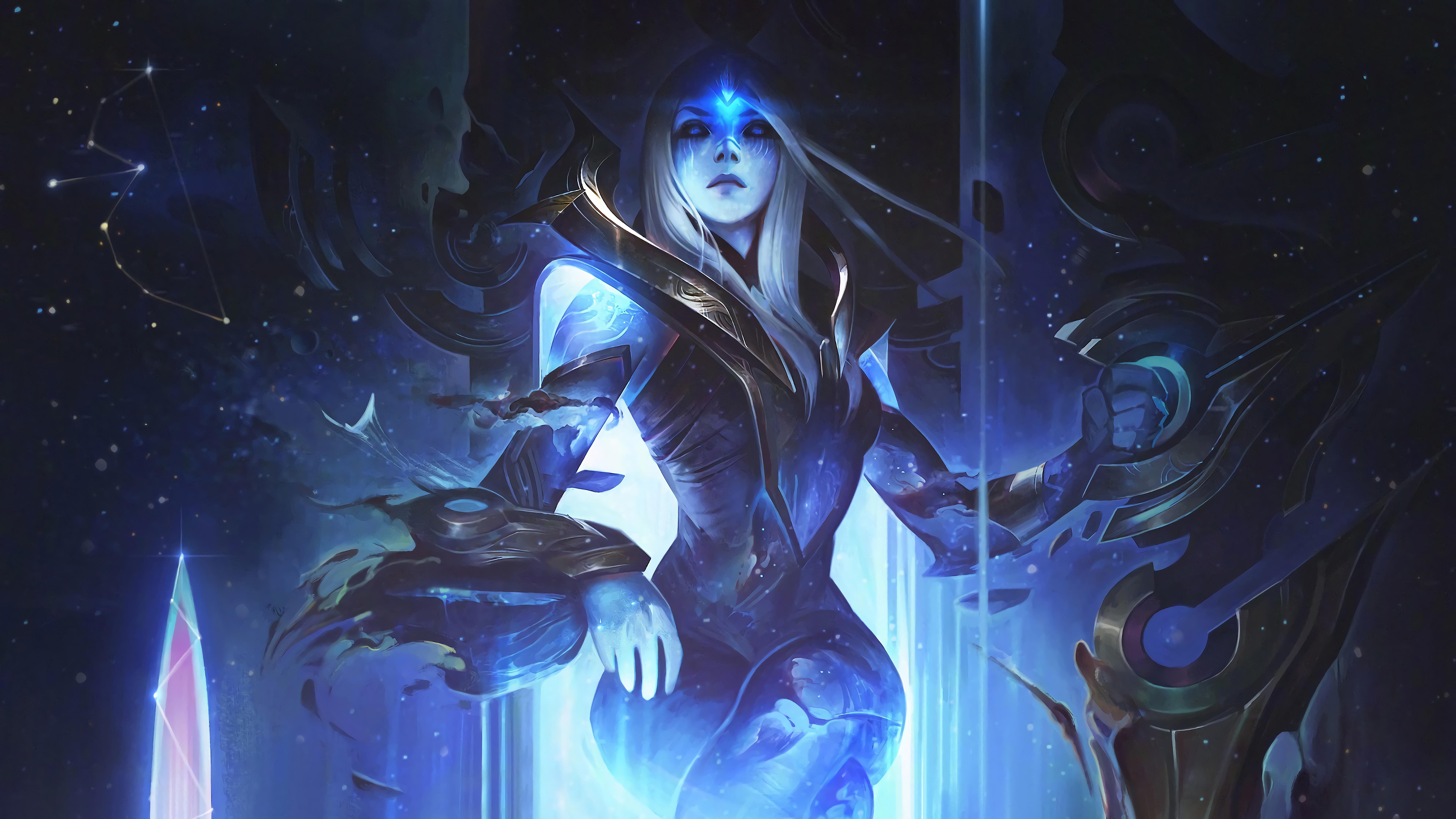 cosmic queen ashe lol league of legends lol 1574103855 - Cosmic Queen Ashe LoL League of Legends lol - league of legends, Cosmic - League of Legends, Ashe