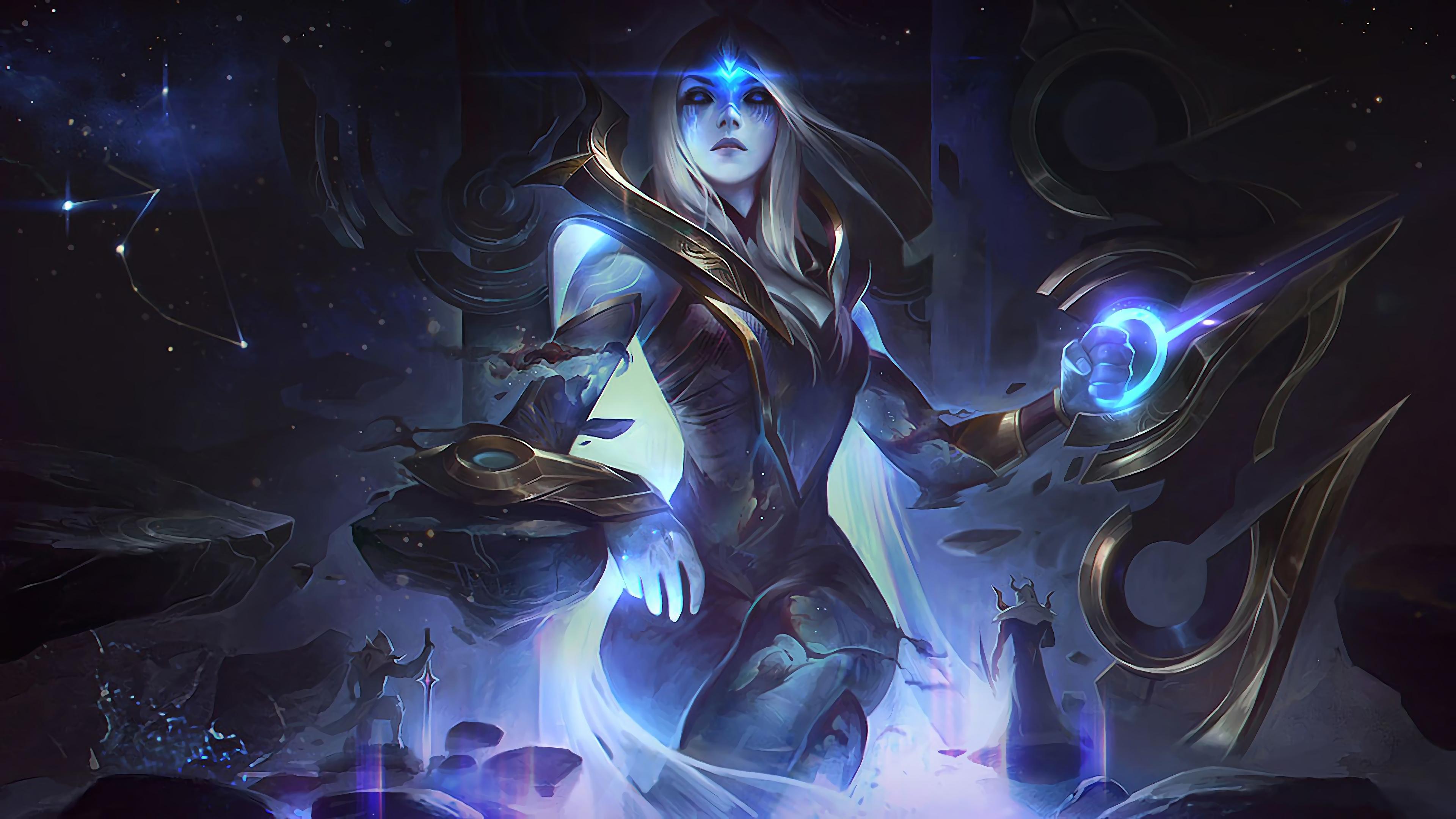 cosmic queen ashe lol splash art league of legends lol 1574103878 - Cosmic Queen Ashe LoL Splash Art League of Legends lol - league of legends, Cosmic - League of Legends, Ashe