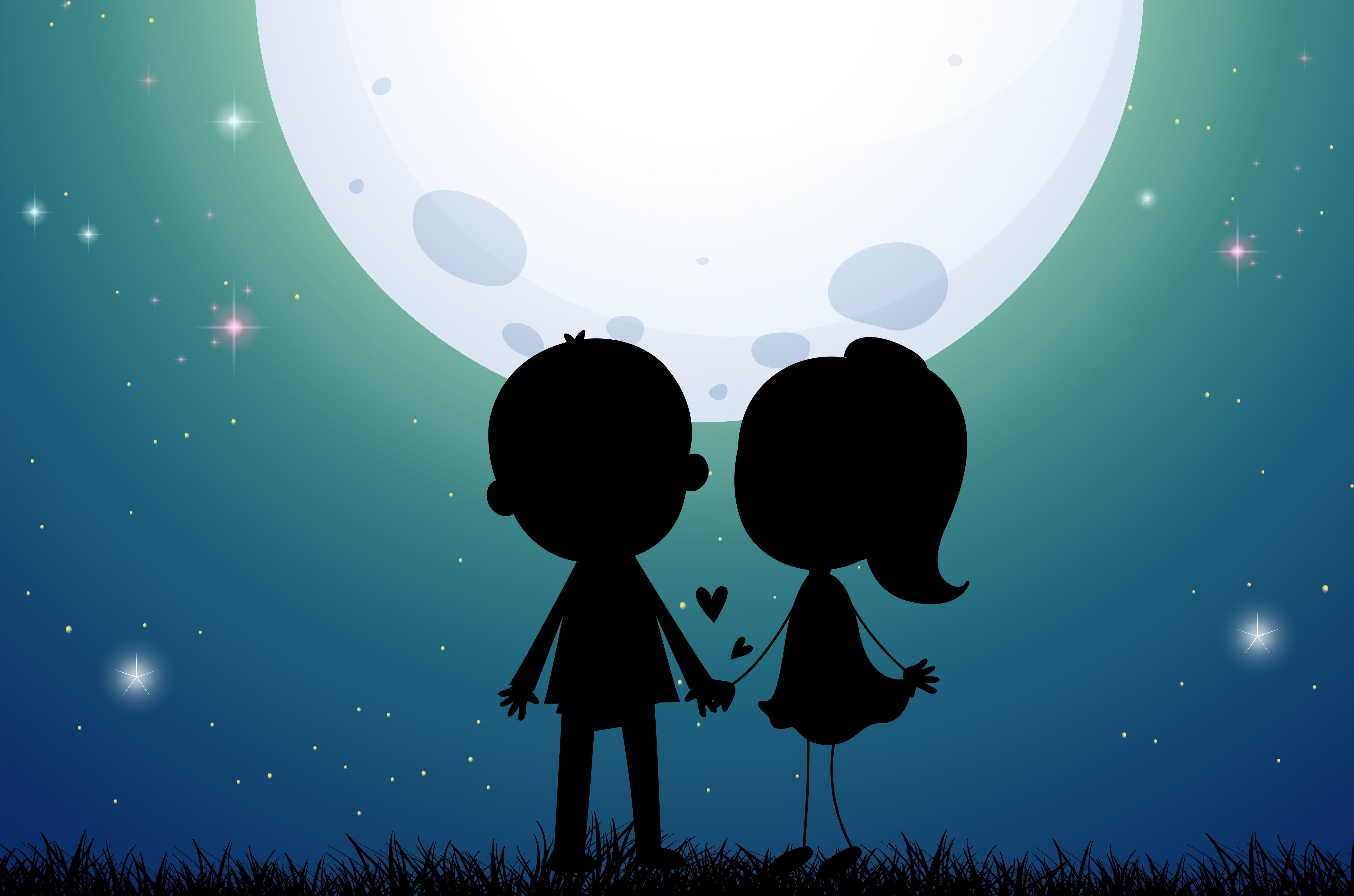 couple silhouette art 1574939717 - Couple Silhouette Art -