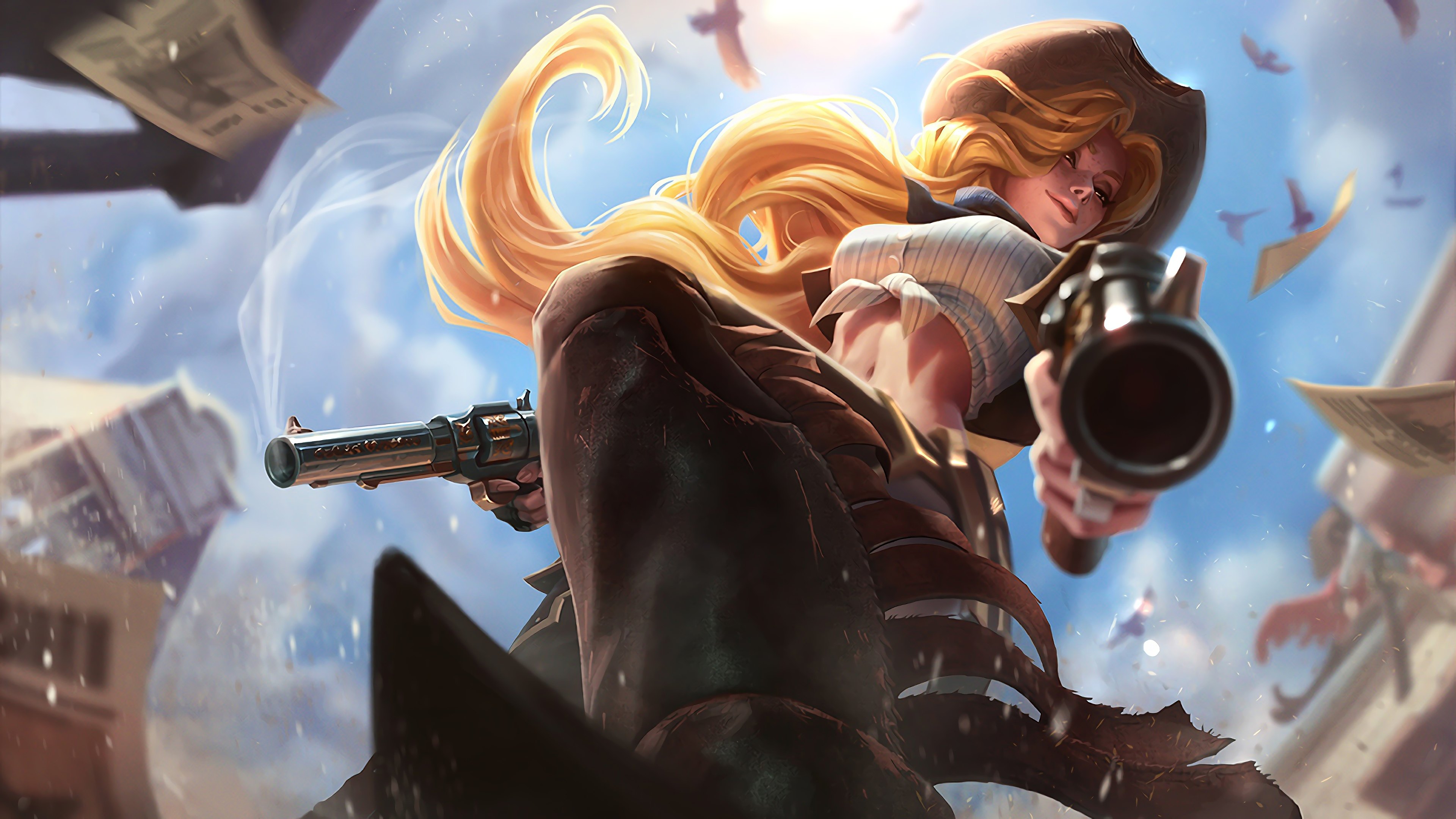 cowgirl miss fortune lol splash art league of legends lol 1574102784 - Cowgirl Miss Fortune LoL Splash Art League of Legends lol - Miss Fortune, league of legends, High Noon - League of Legends