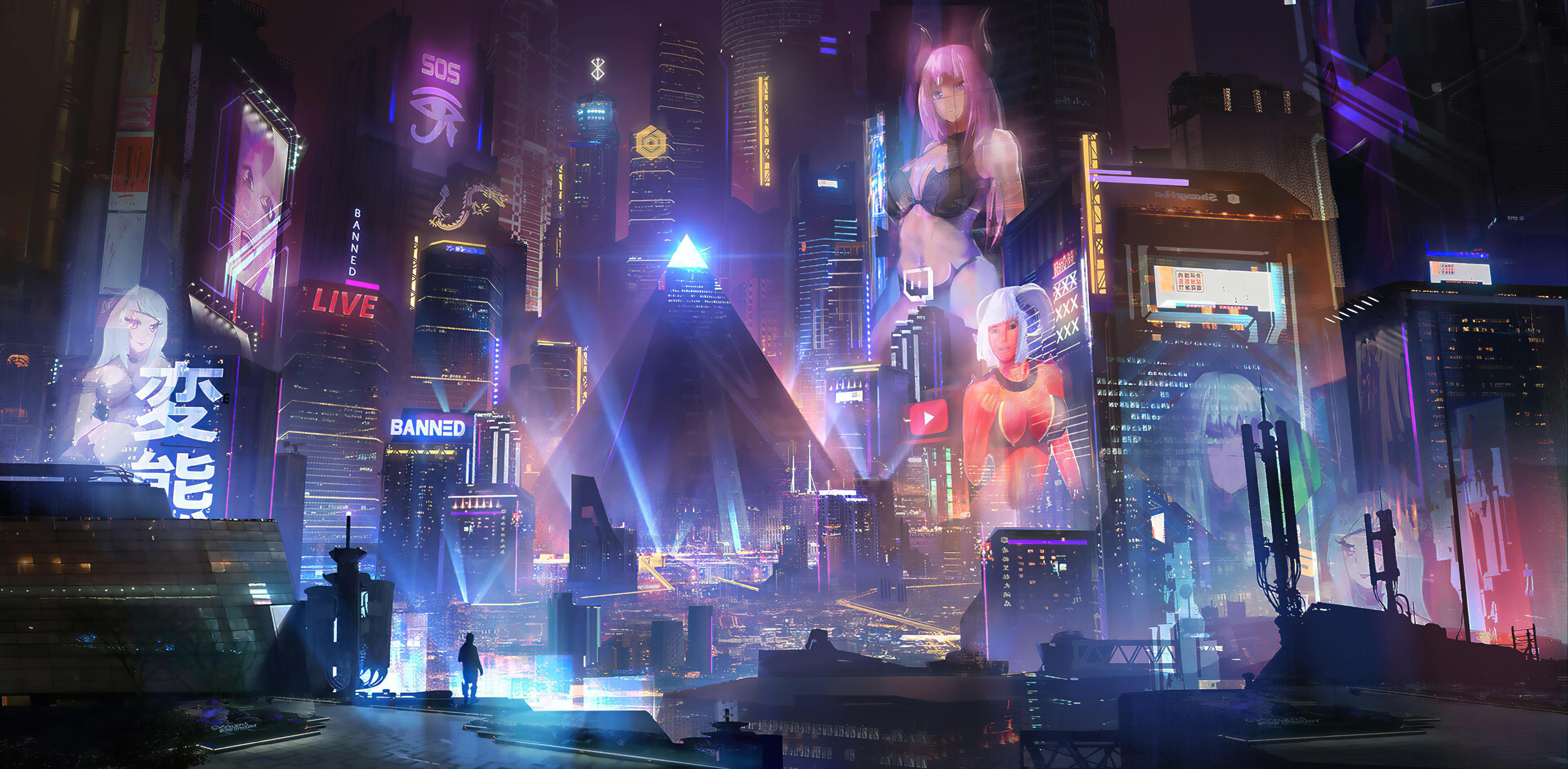 cyberpunk city 1574940837 - Cyberpunk City -