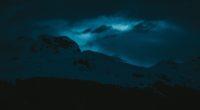 dark evening snow covered mountains 1574937669 200x110 - Dark Evening Snow Covered Mountains -