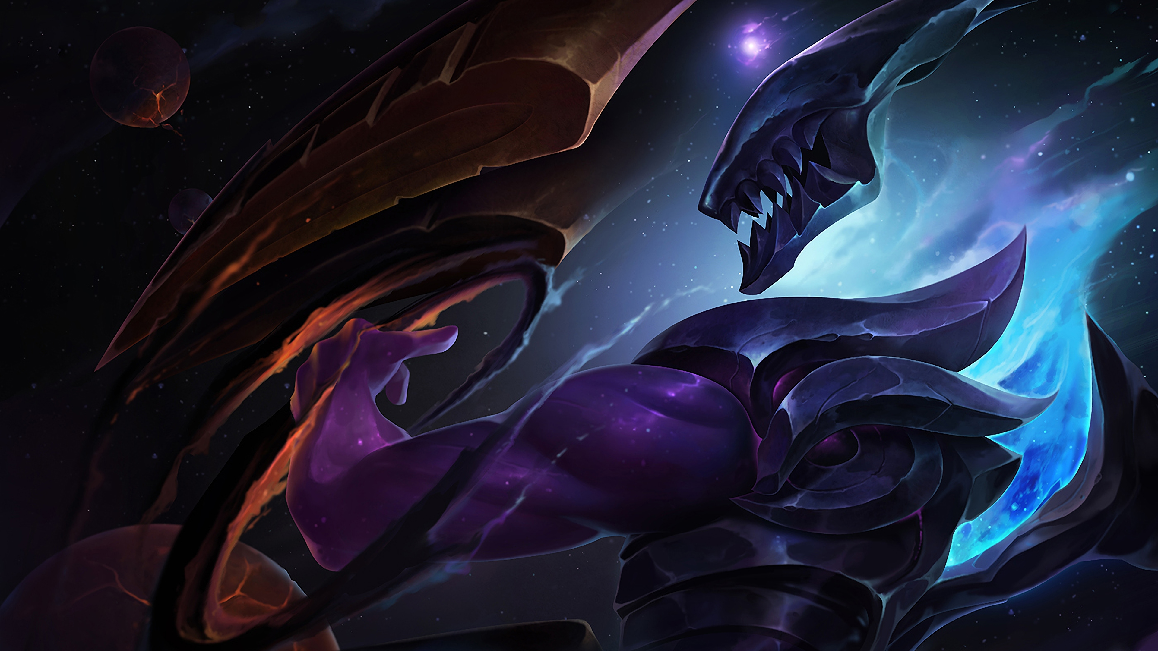 dark star varus lol art league of legends lol 1574103424 - Dark Star Varus LoL Art League of Legends lol - Varus, league of legends