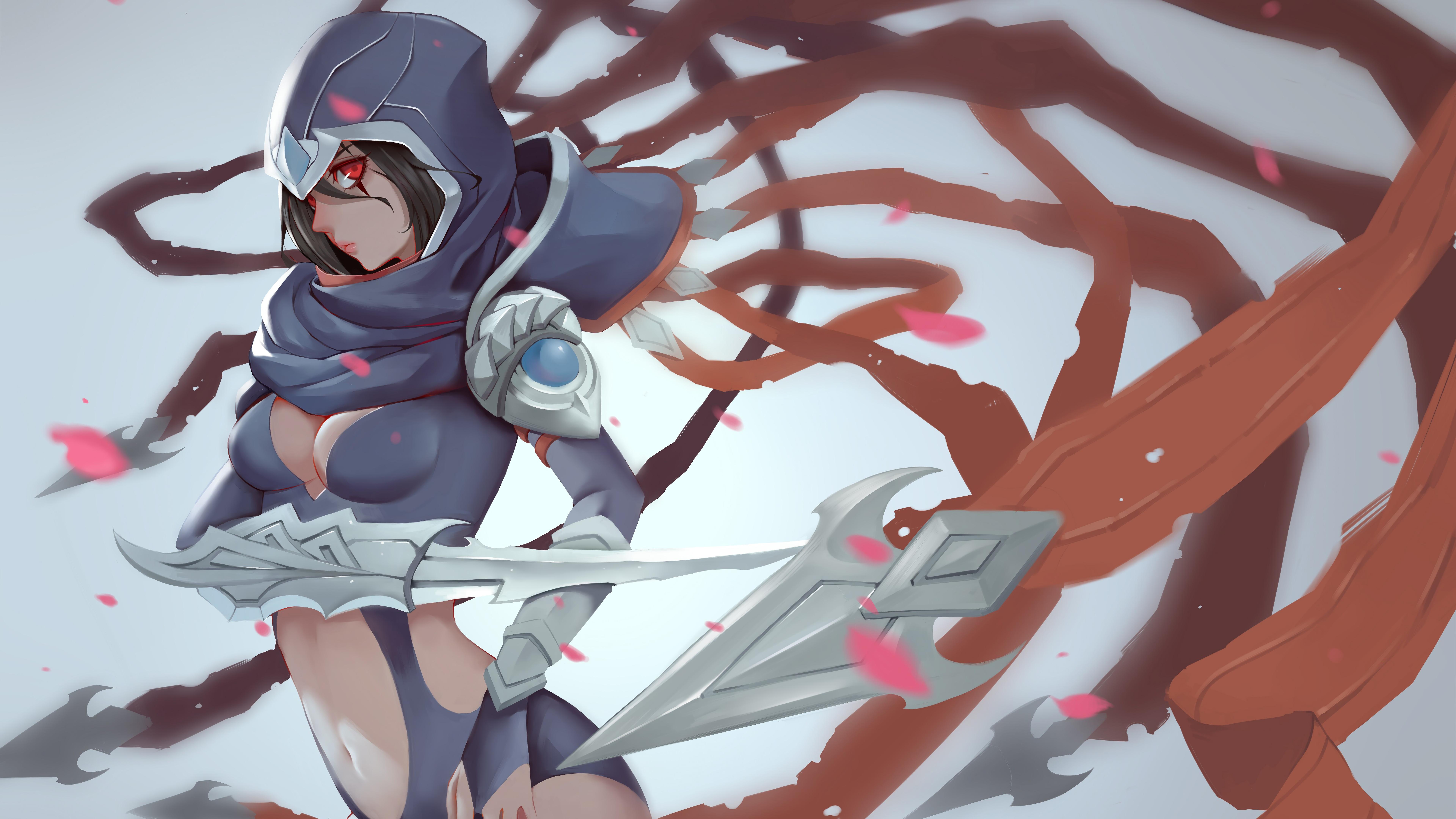 Wallpaper 4k Female Talon Lol League Of Legends League Of Legends
