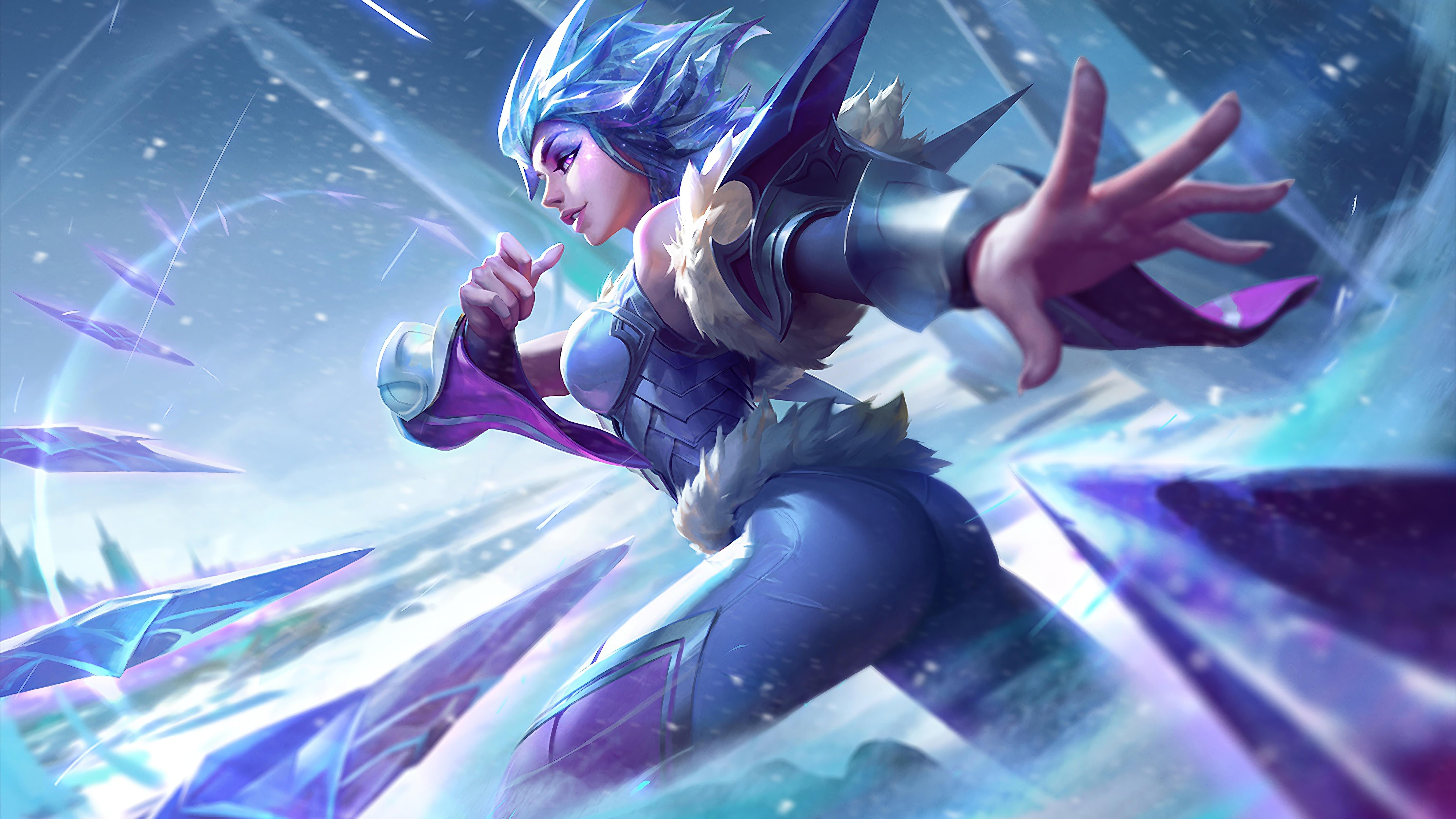 frostblade irelia lol splash art update tweak league of legends 1574103204 - Frostblade Irelia LoL Splash Art Update Tweak League of Legends - league of legends, Irelia