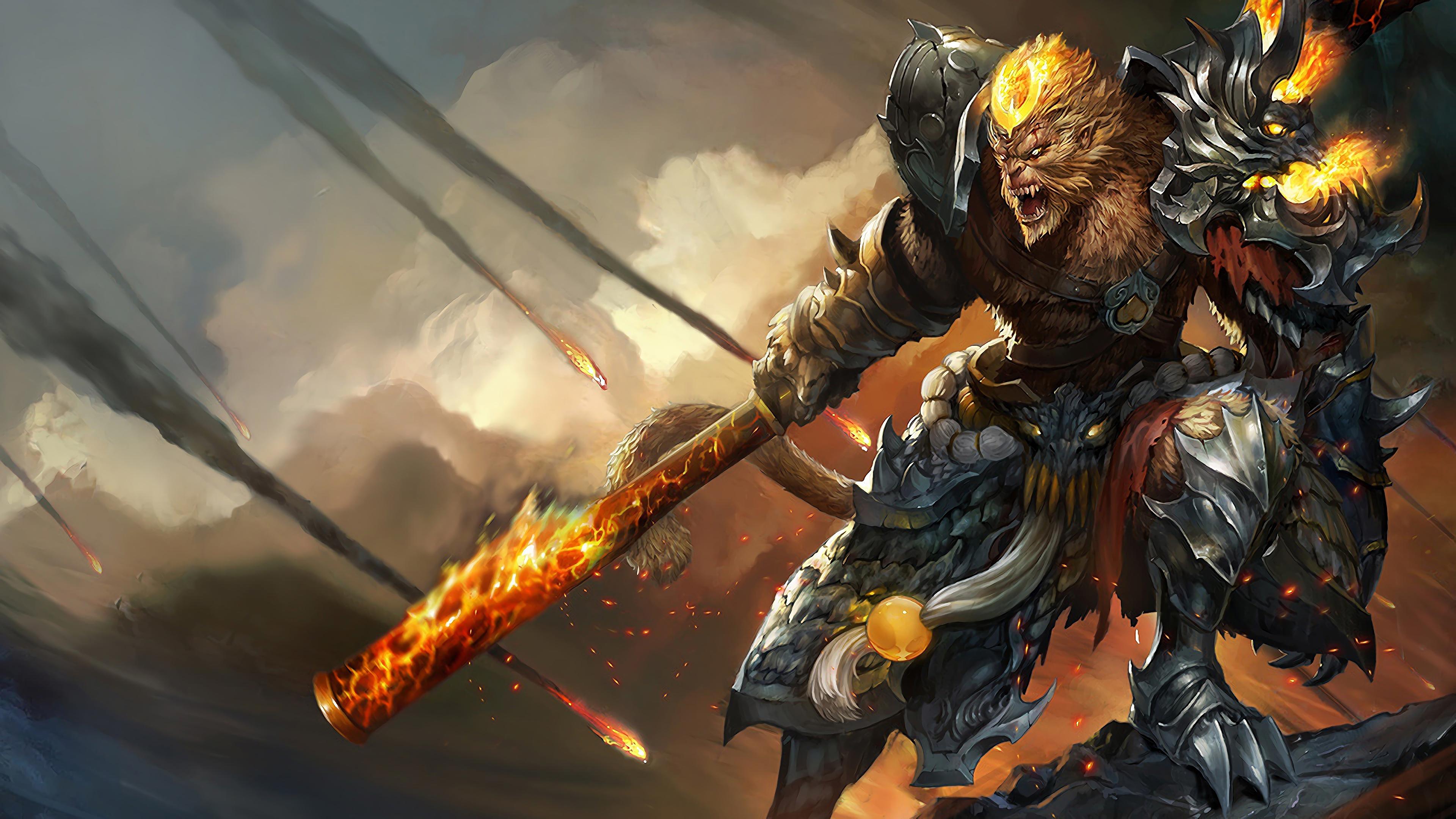 general wukong lol splash art league of legends 1574098191 - General Wukong LoL Splash Art League of Legends - Wukong, league of legends