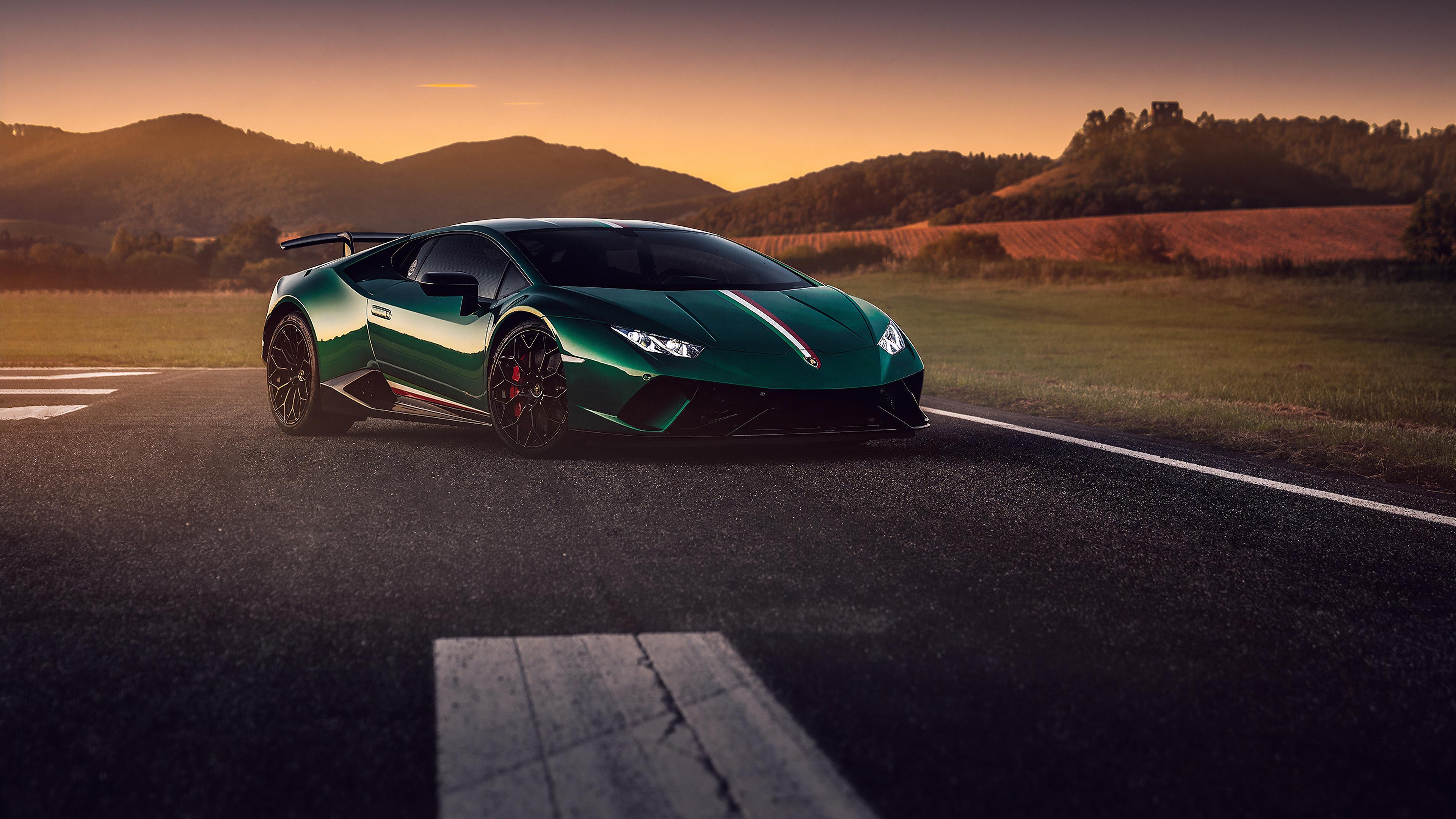 green lamborghini huracan 2019 1572661095 - Green Lamborghini Huracan 2019 - lamborghini huracan wallpapers, hd-wallpapers, cars wallpapers, behance wallpapers, 4k-wallpapers