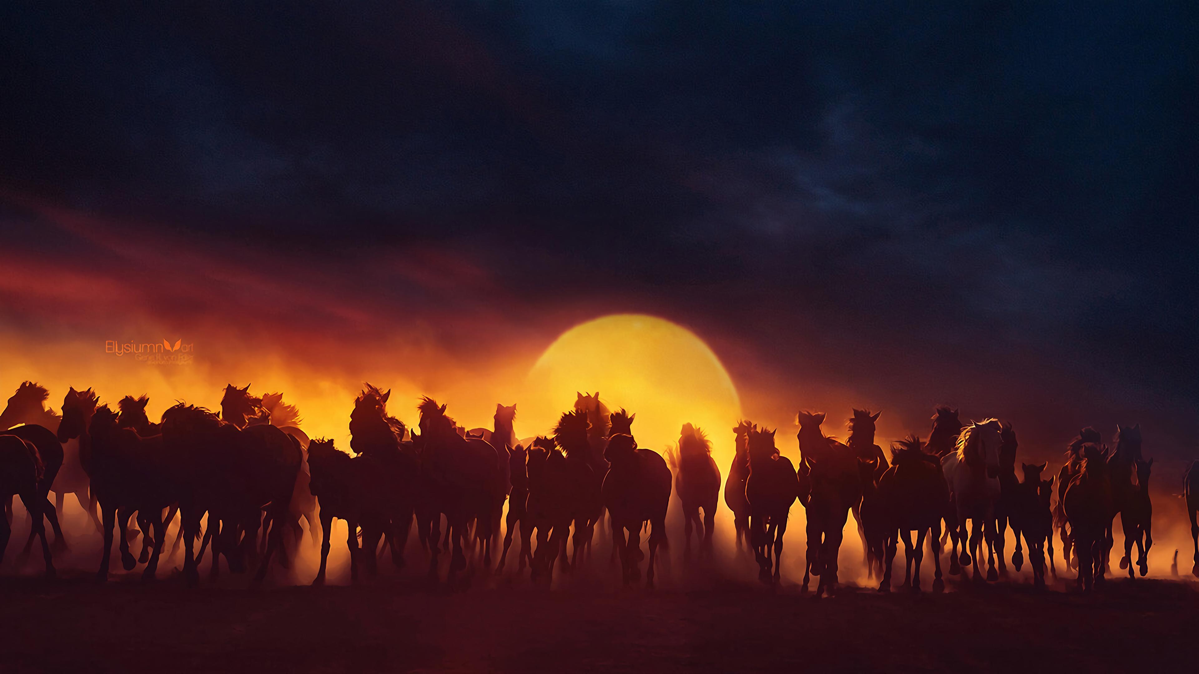 group of horses running 1574938119 - Group Of Horses Running -