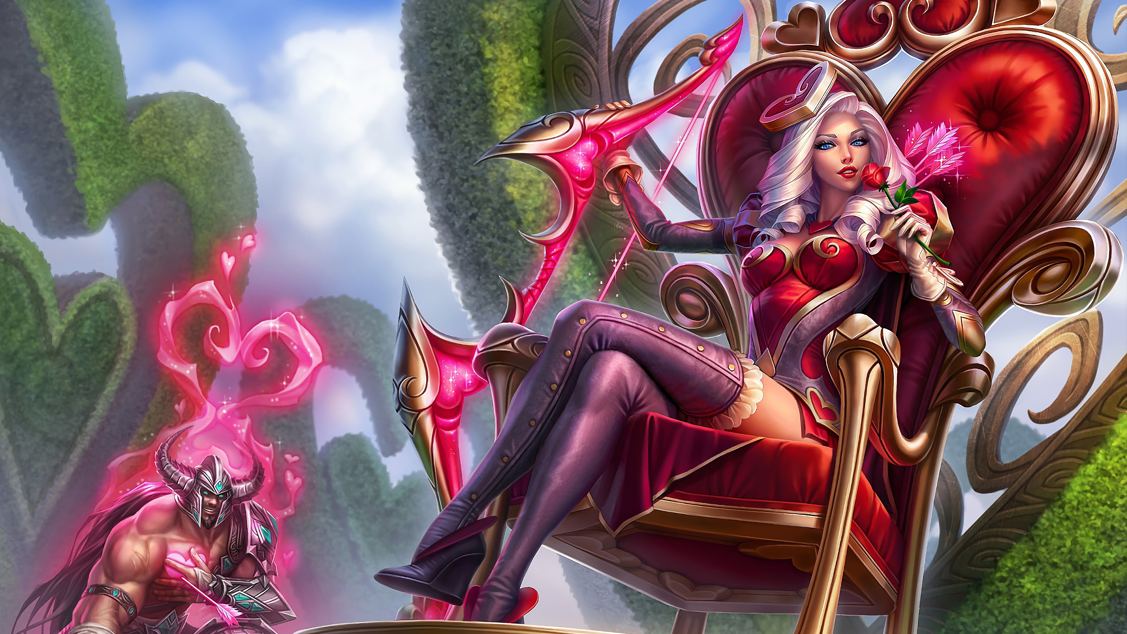heartseeker ashe lol splash art league of legends lol 1574102616 - Heartseeker Ashe LoL Splash Art League of Legends lol - league of legends, Ashe