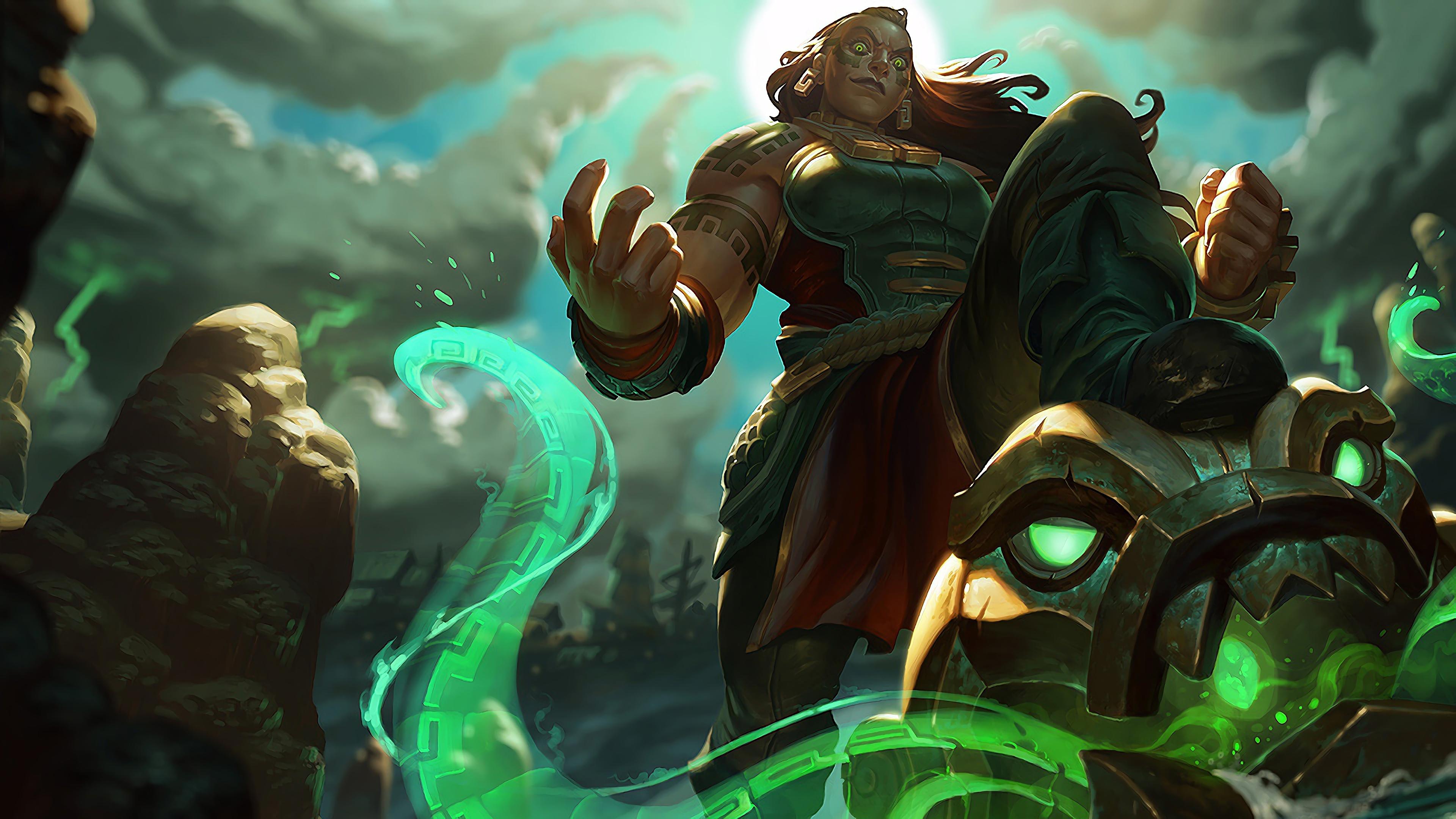 illaoi lol splash art league of legends 1574098170 - Illaoi LoL Splash Art League of Legends - league of legends, Illaoi