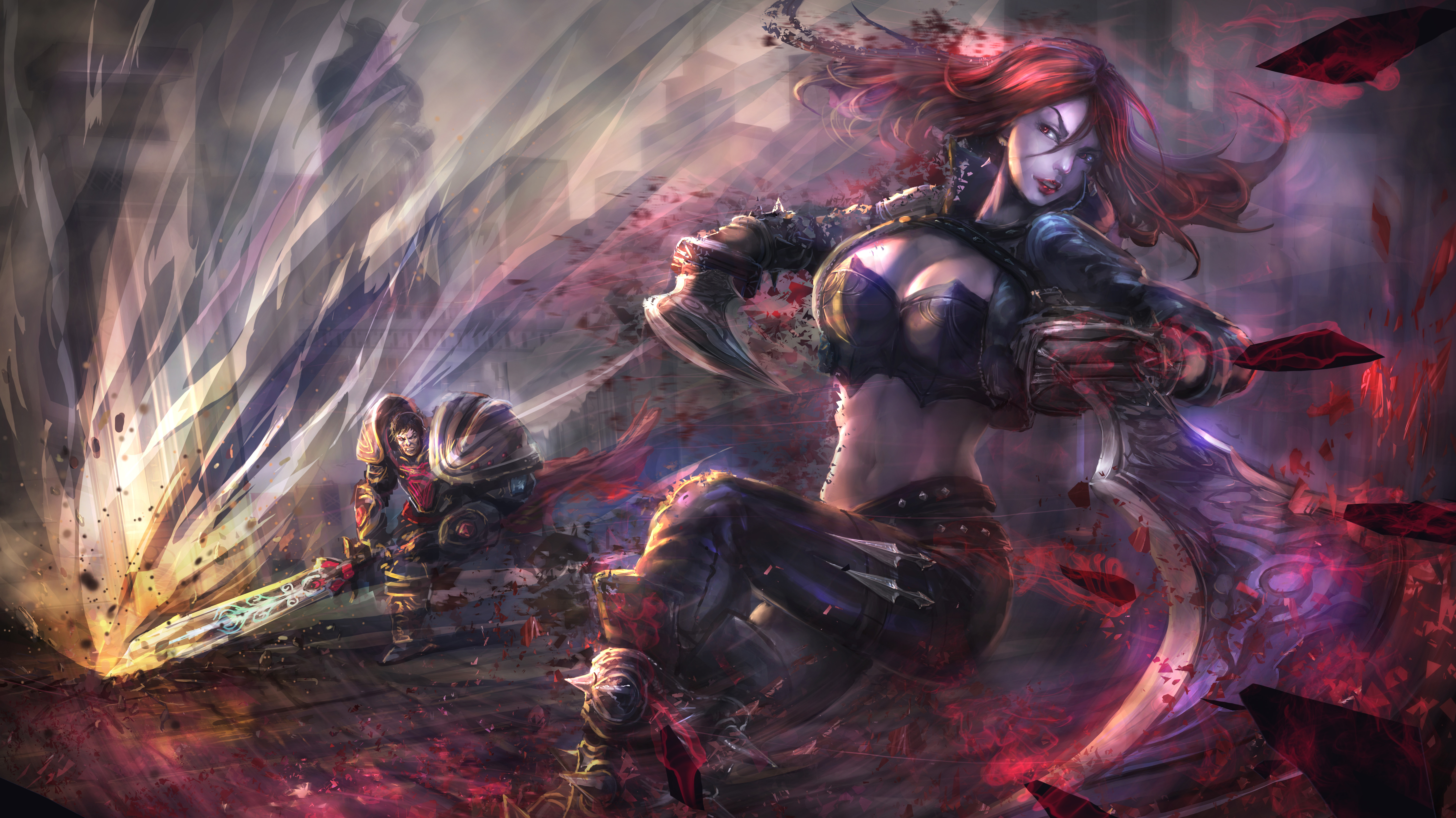 katarina vs garen 1574096170 - Katarina vs. Garen - league of legends, Katarina, Garen