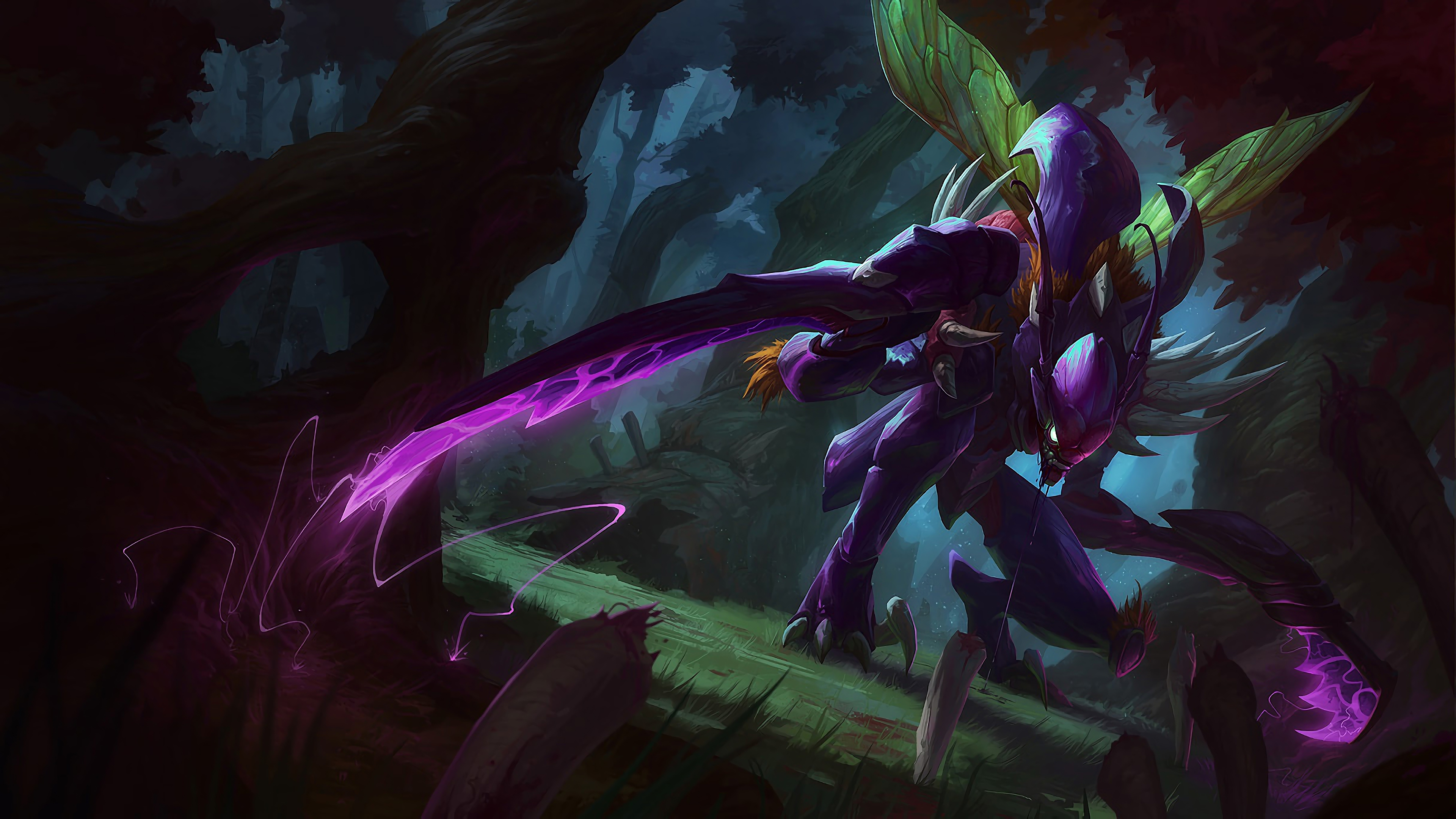 kha zix lol splash art league of legends lol 1574101888 - Kha'Zix LoL Splash Art League of Legends lol - league of legends, Kha'Zix