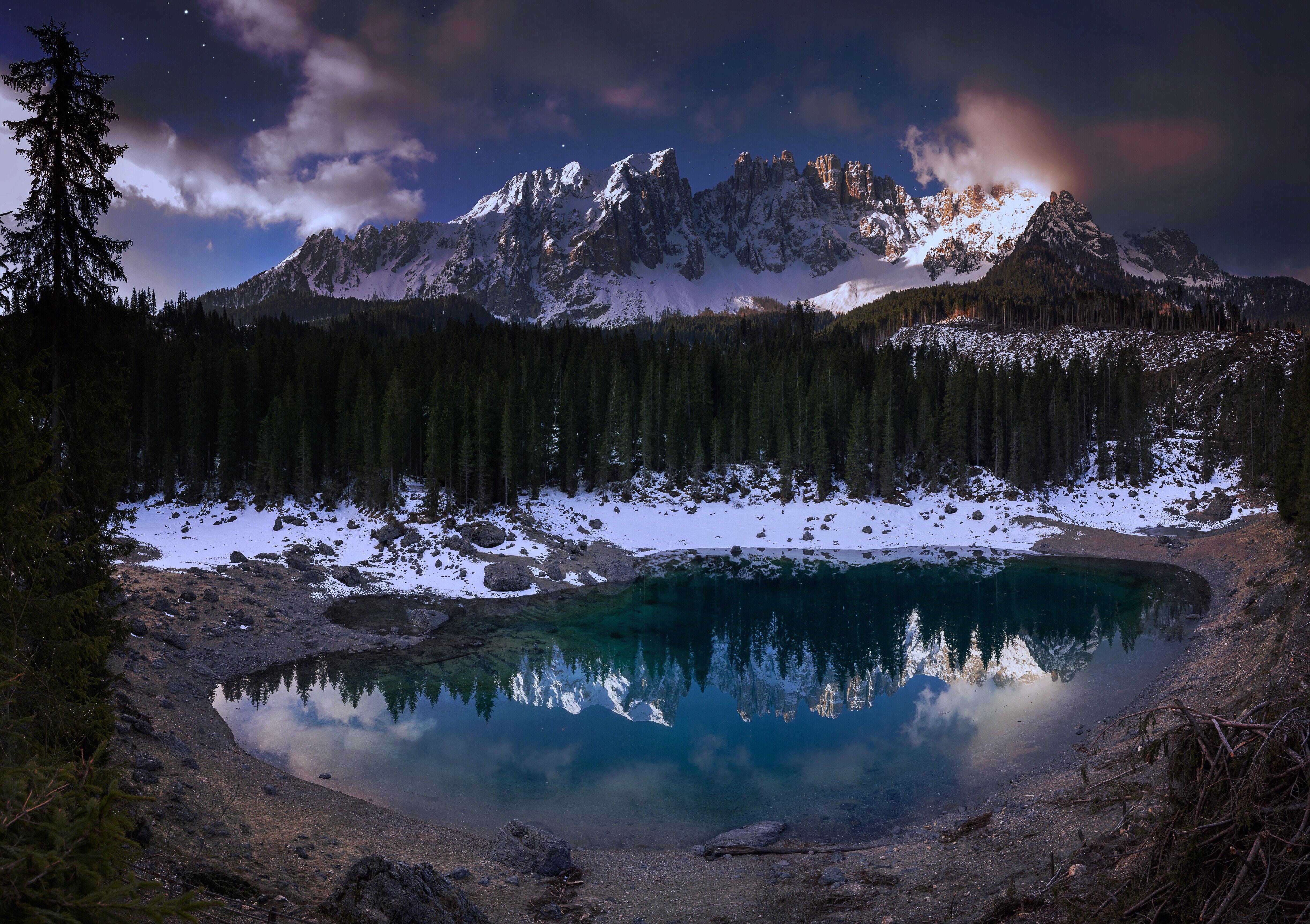 lago di carezza 1574939558 - Lago Di Carezza -