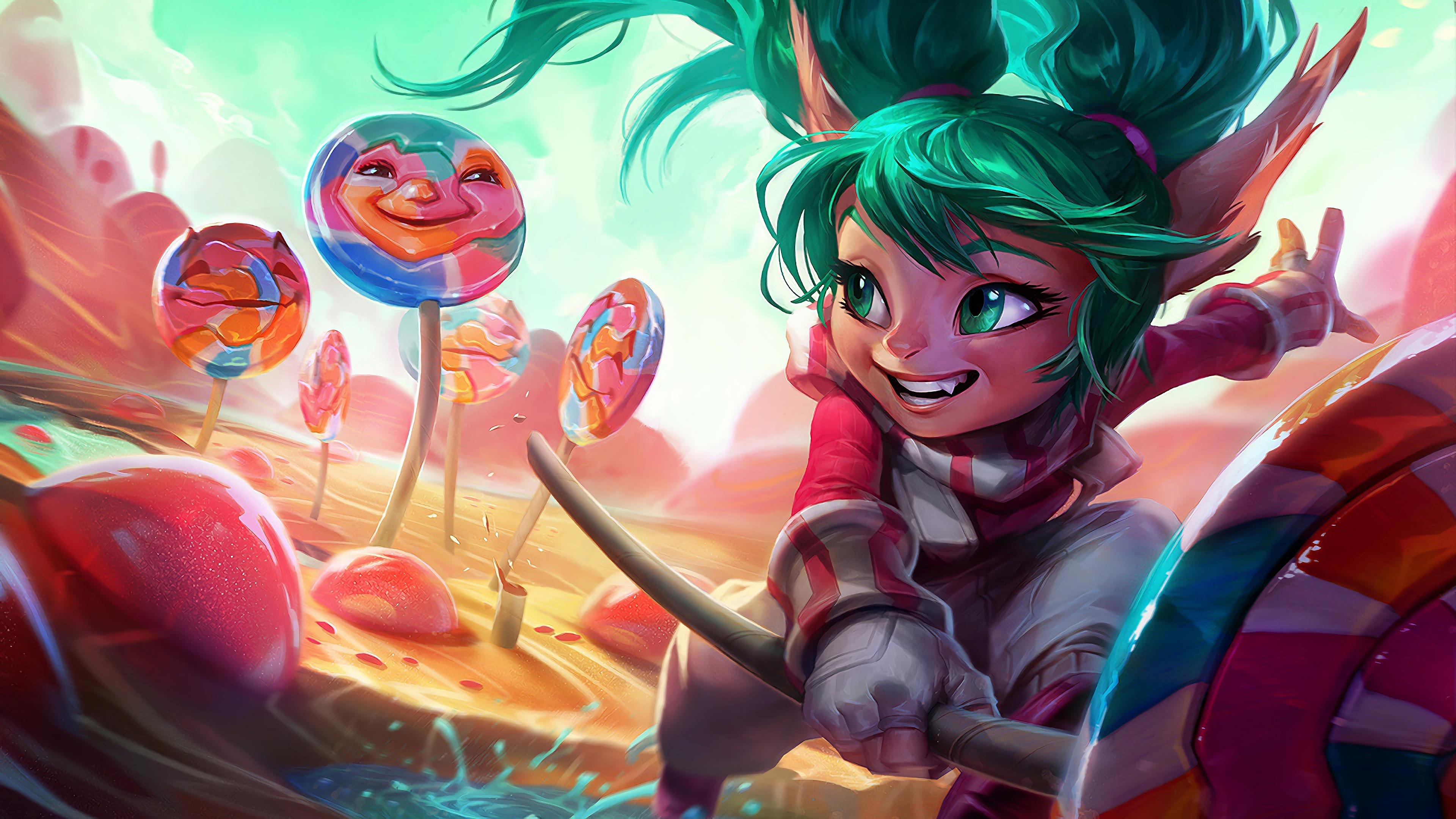 lollipoppy poppy lol splash art league of legends art 1574101354 - Lollipoppy Poppy LoL Splash Art League of Legends Art - Poppy, league of legends