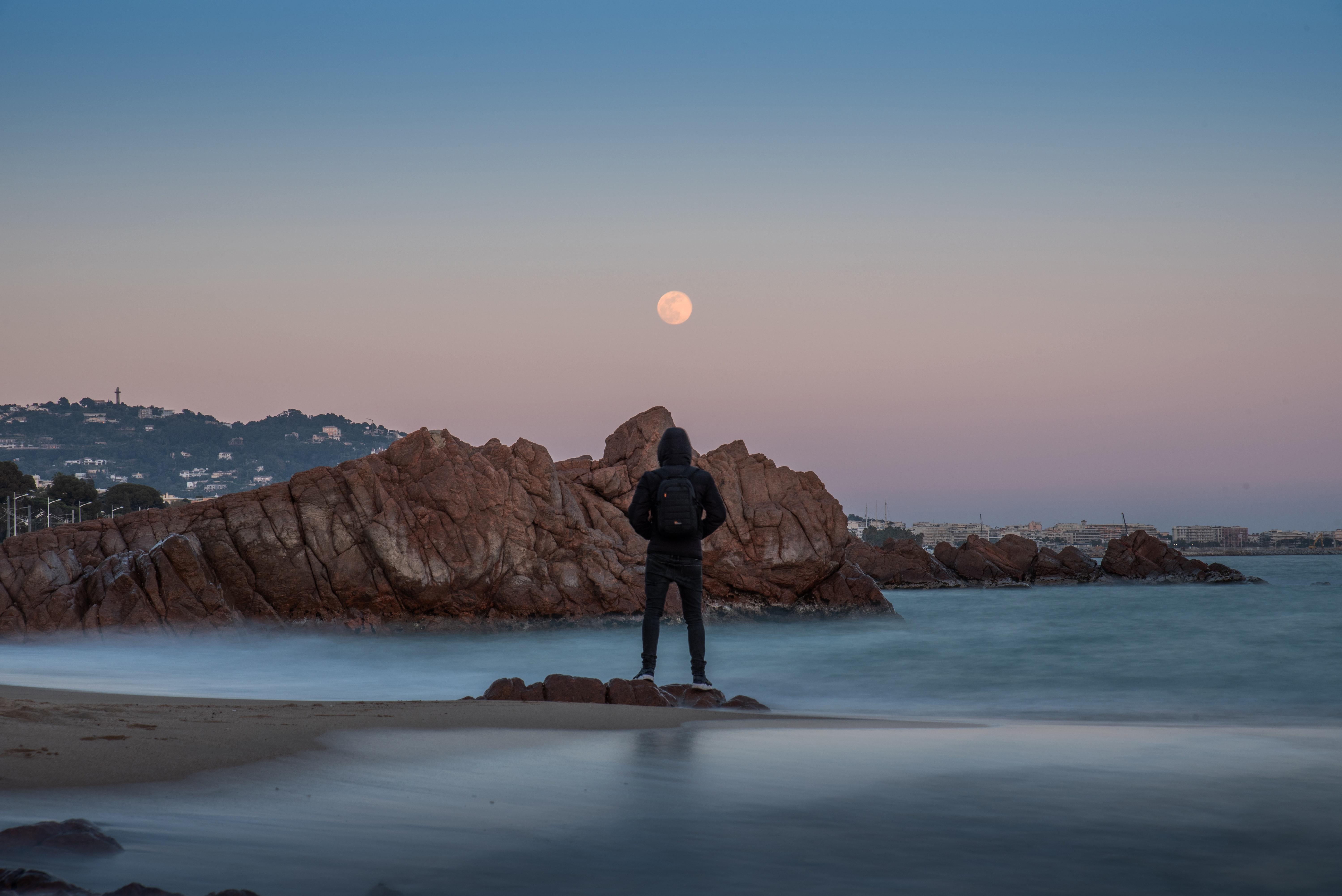 man overlooking sea 1574938394 - Man Overlooking Sea -