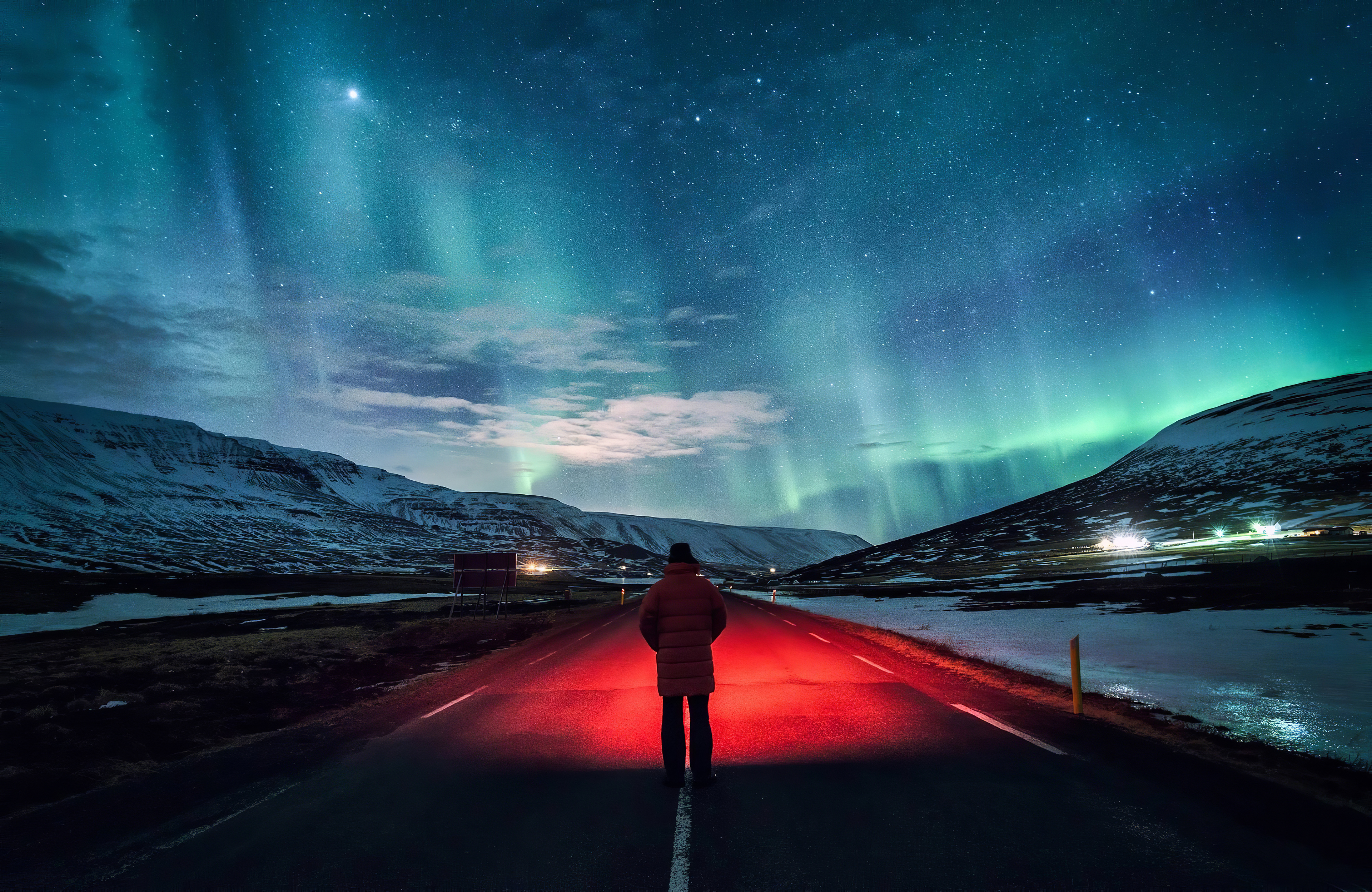 man standing inside road 1574938566 - Man Standing Inside Road -