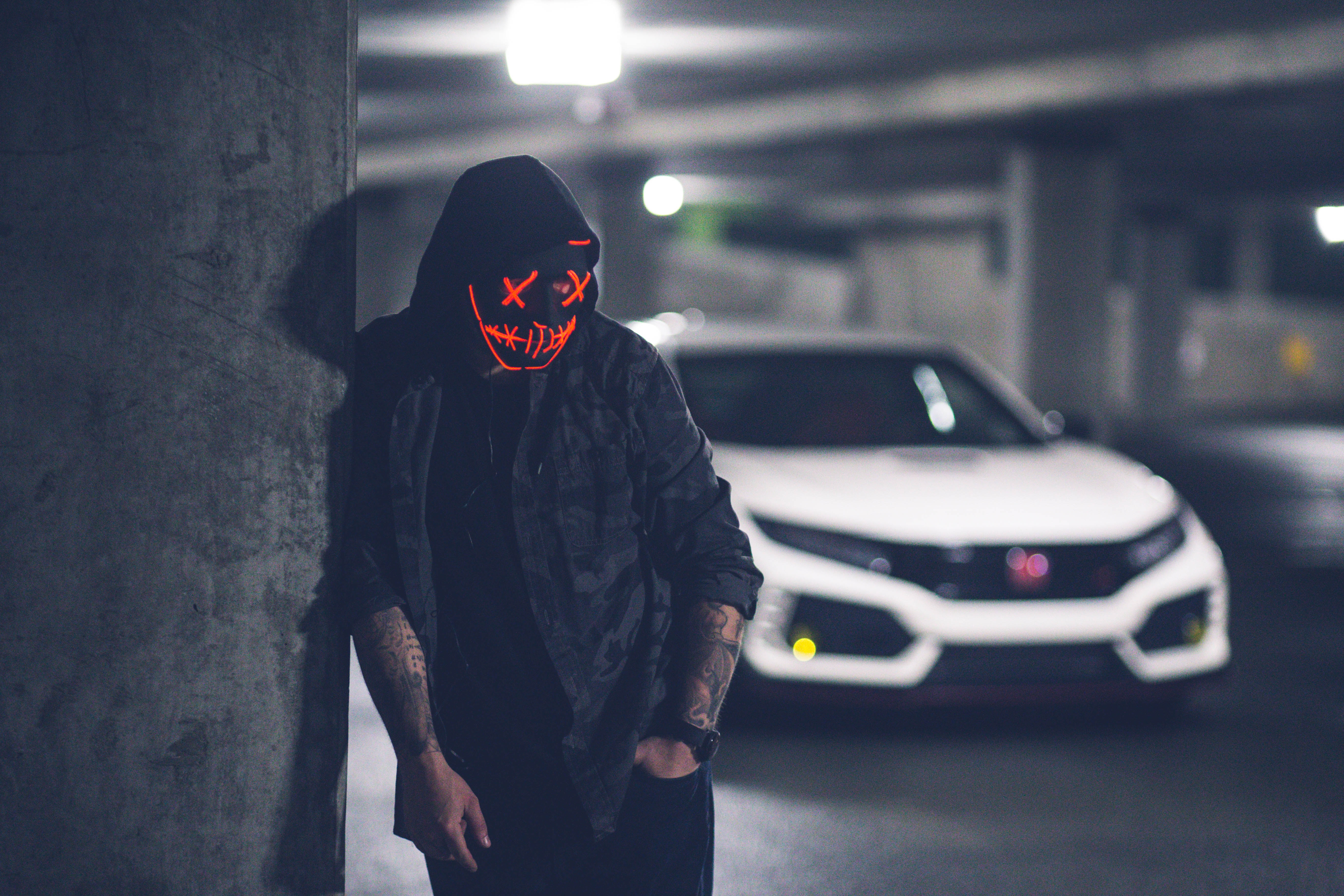 mask neon inked with car 1574938650 - Mask Neon Inked With Car -