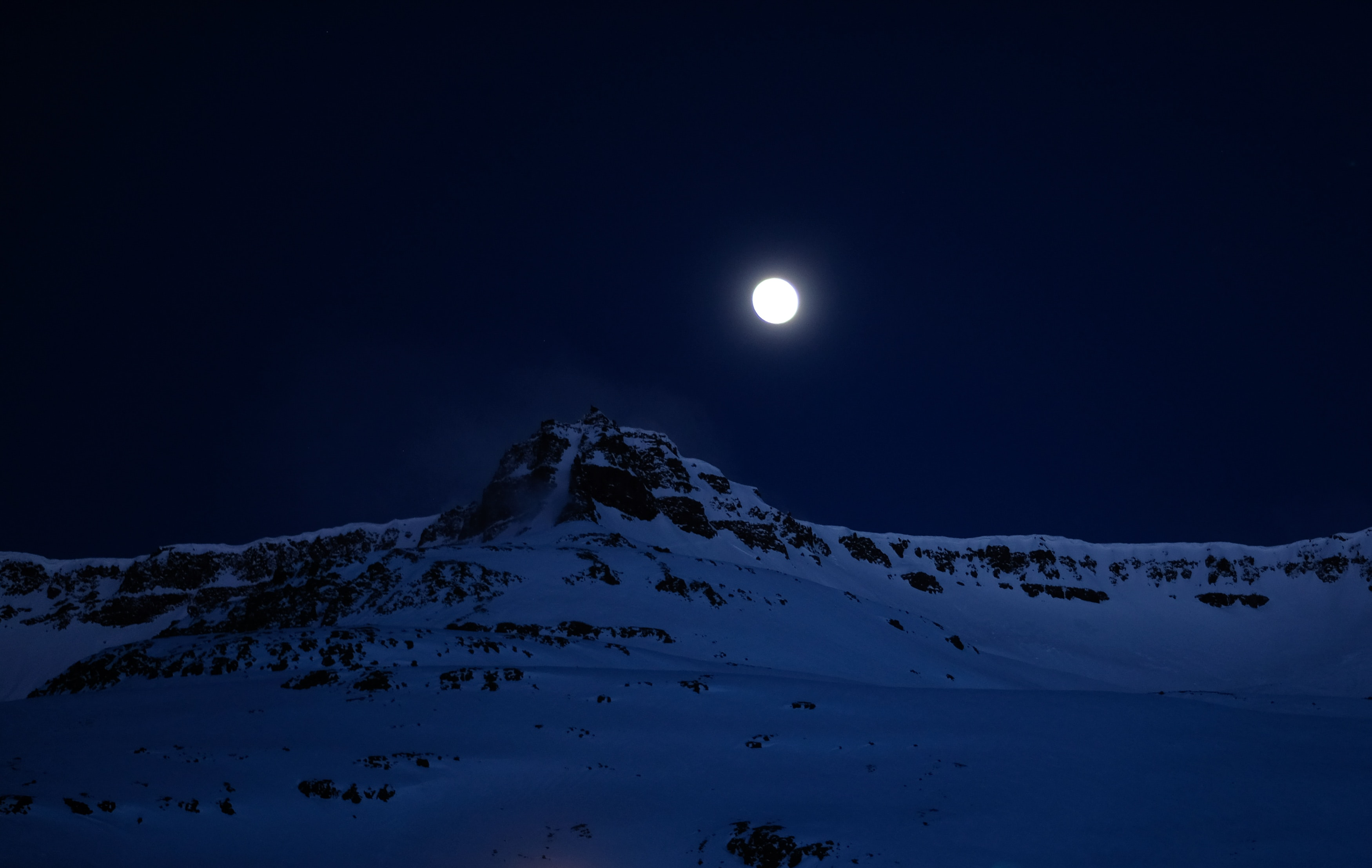 mountain covered with snow moon 1574939646 - Mountain Covered With Snow Moon -