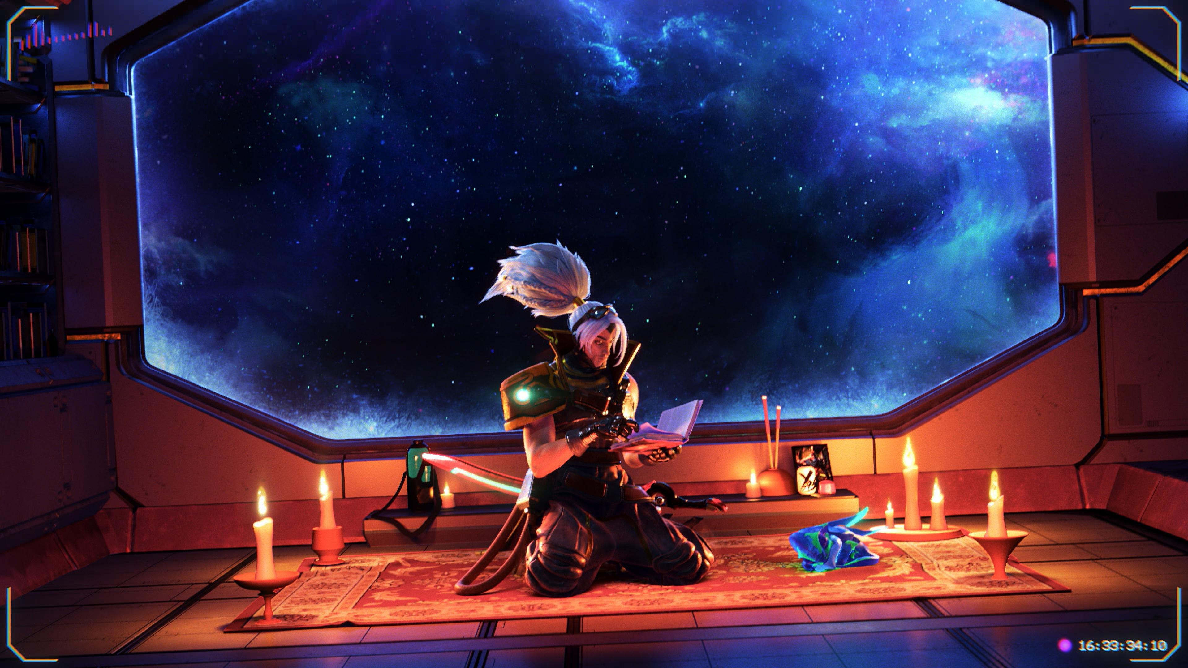 Wallpaper 4k Odyssey Yasuo Lol League Of Legends Lol League Of