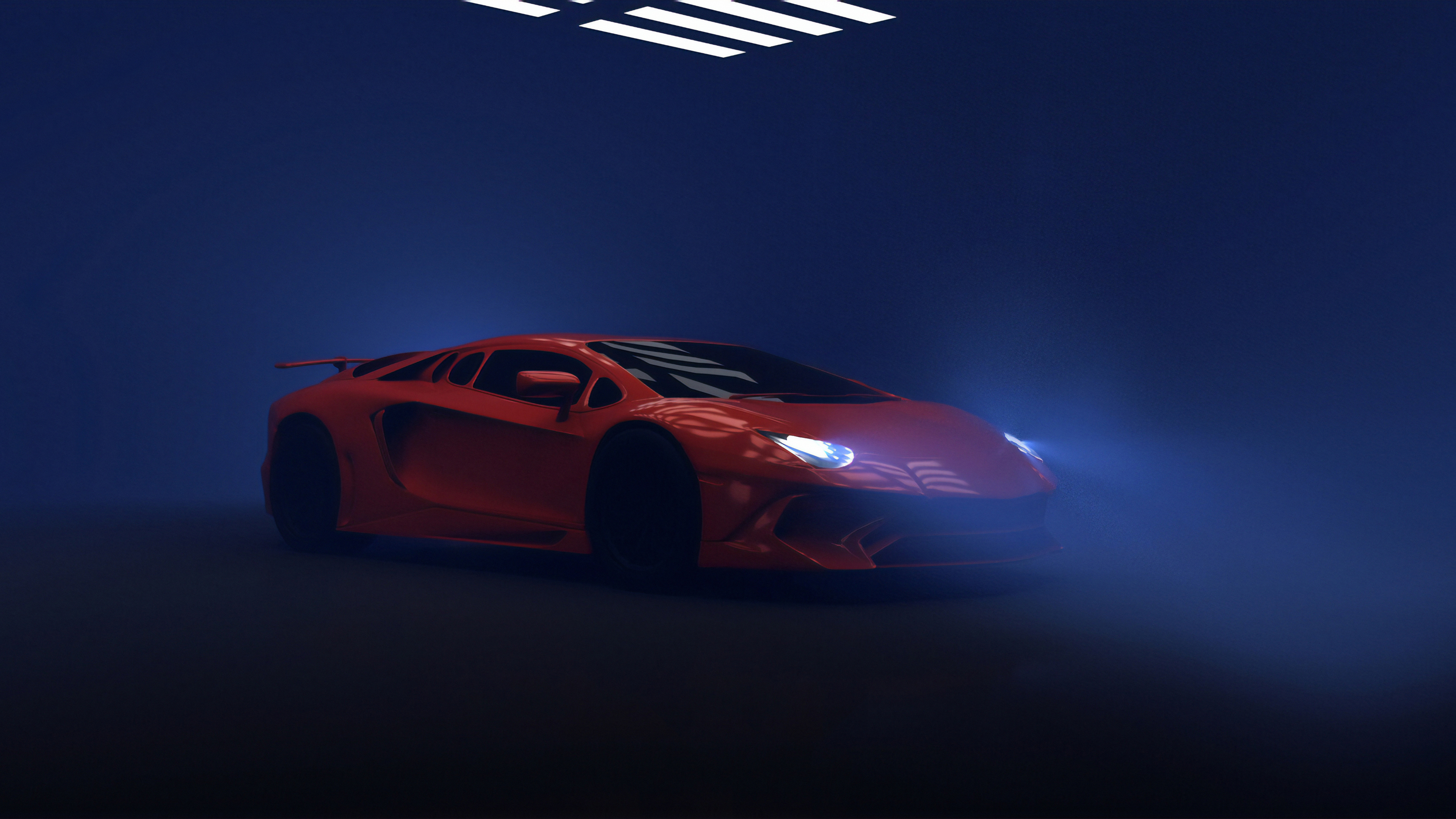 orange lambo 1572660896 - Orange Lambo - lamborghini wallpapers, hd-wallpapers, cars wallpapers, artstation wallpapers, 4k-wallpapers