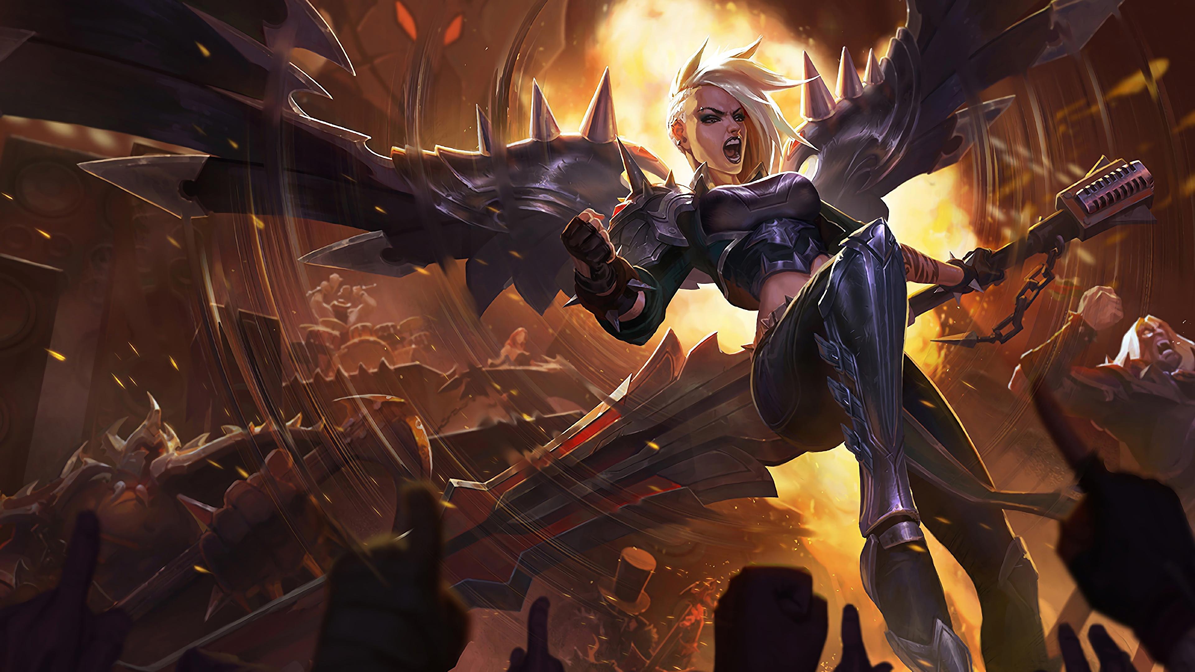 pentakill kayle lol splash art league of legends 1574099524 - Pentakill Kayle LoL Splash Art League of Legends - league of legends, Kayle