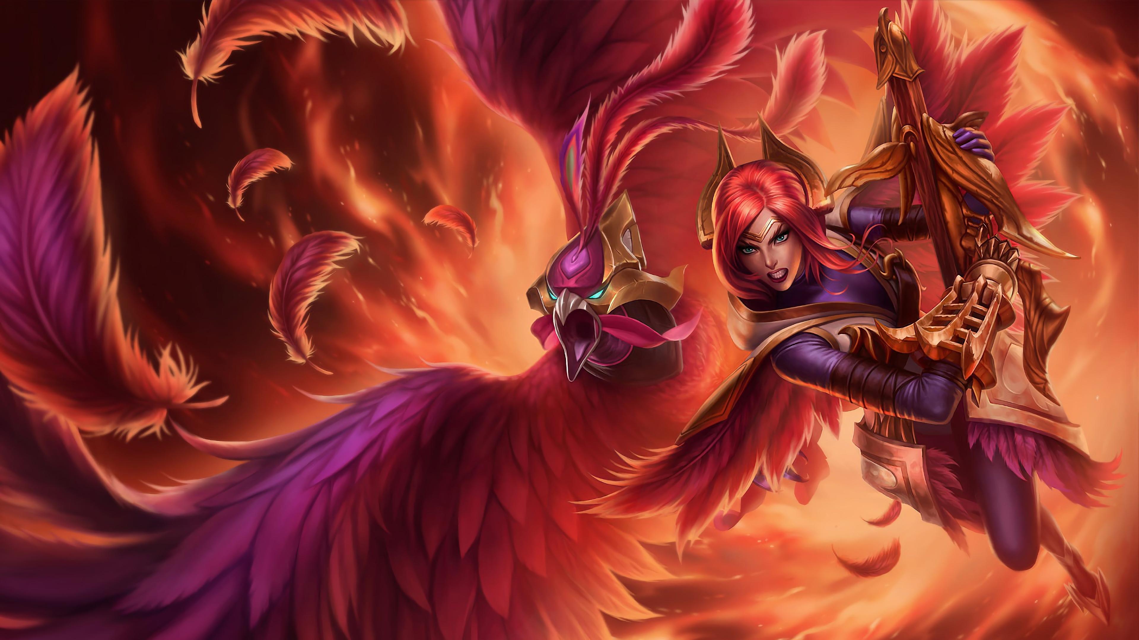 phoenix quinn lol splash art league of legends 1574098601 - Phoenix Quinn LoL Splash Art League of Legends - Quinn, league of legends