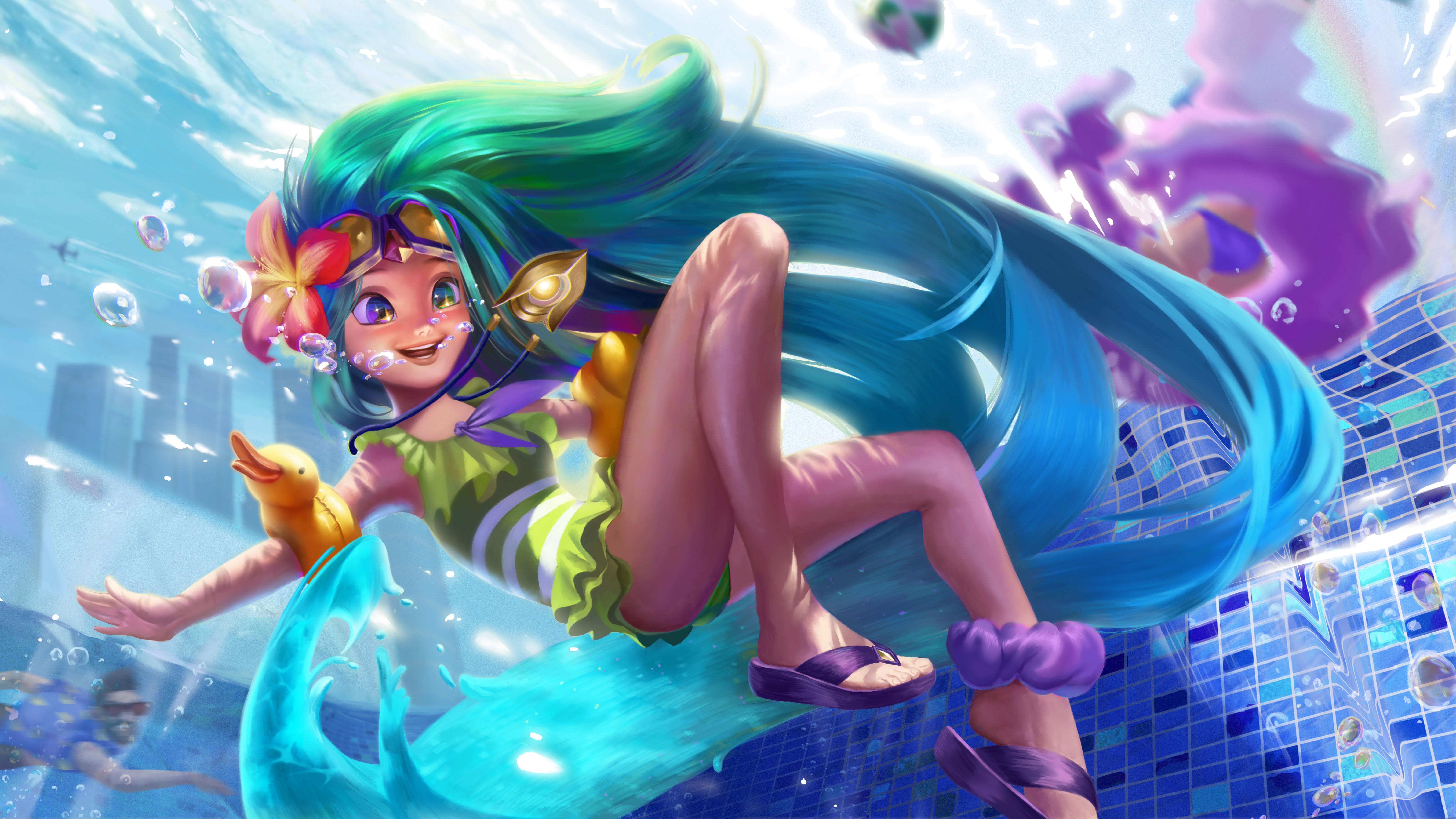 pool party zoe league of legends lol lol 1574104715 - Pool Party Zoe League Of Legends LoL lol - Zoe, Pool Party - League of Legends, league of legends