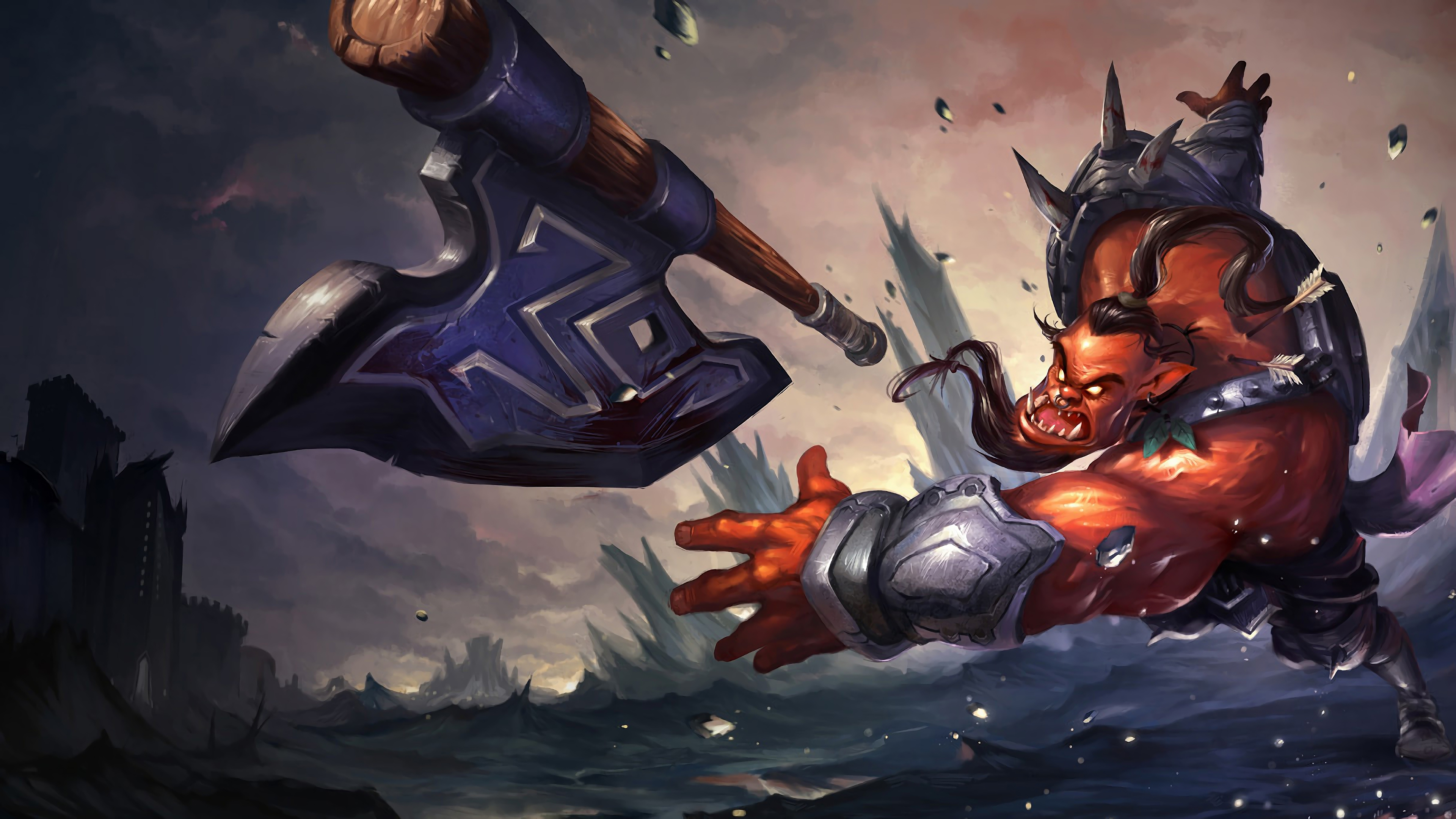 rageborn mundo lol splash art league of legends 1574098596 - Rageborn Mundo LoL Splash Art League of Legends - league of legends