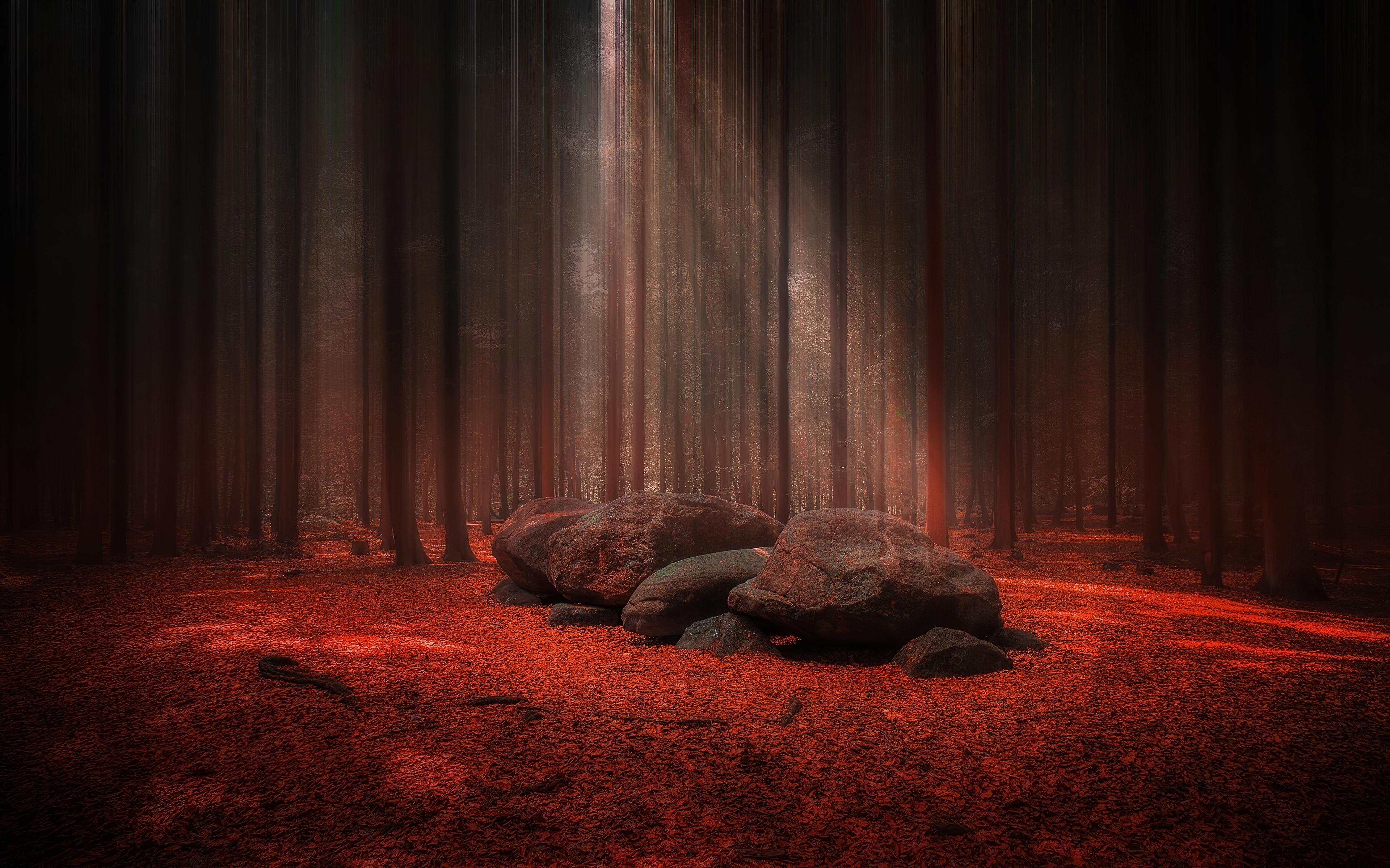 red stones wood light beams 1574937651 - Red Stones Wood Light Beams -